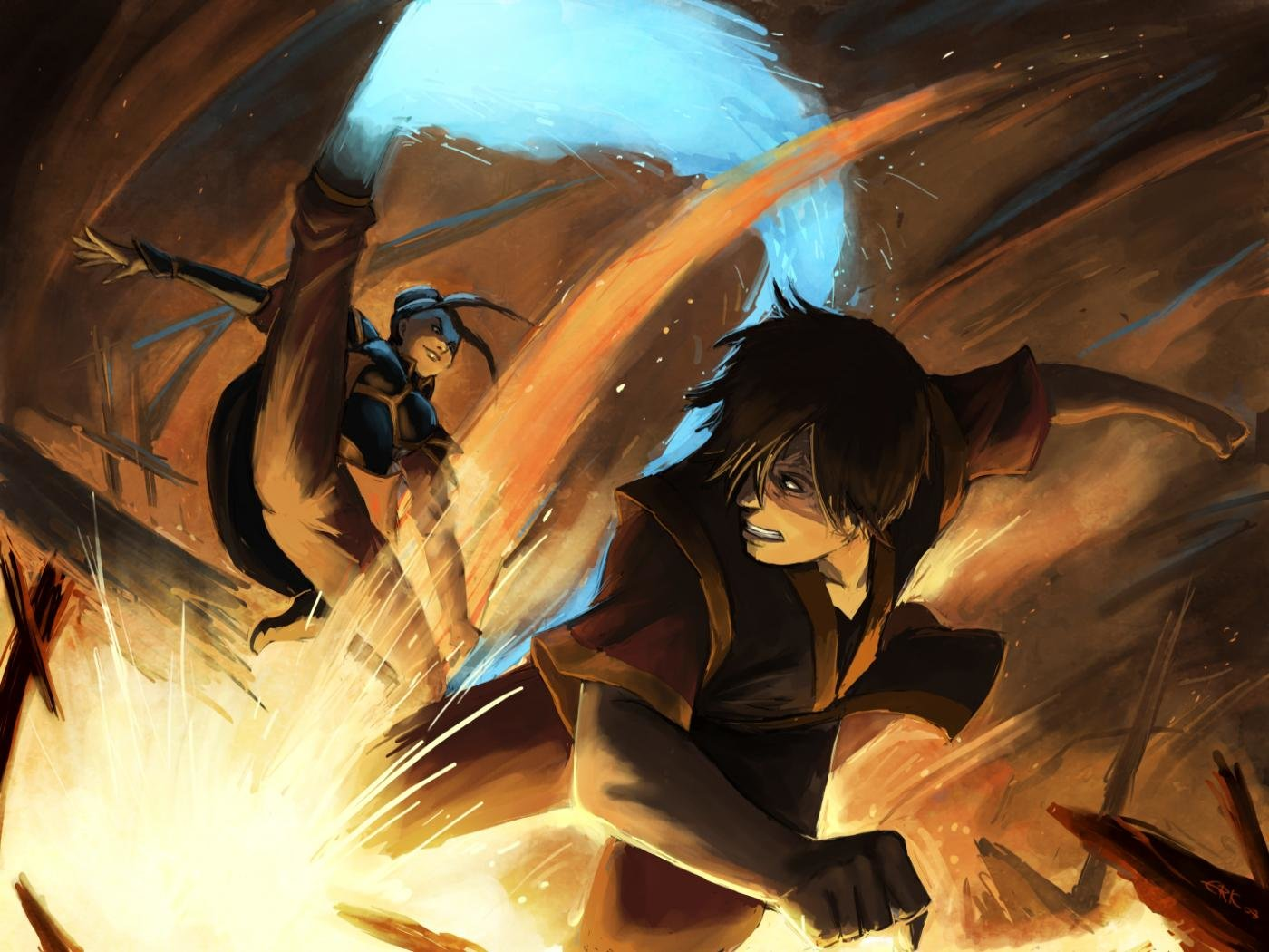 Best Avatar The Last Airbender Wallpaper ID226699 For High Resolution Hd 1400x1050 Computer