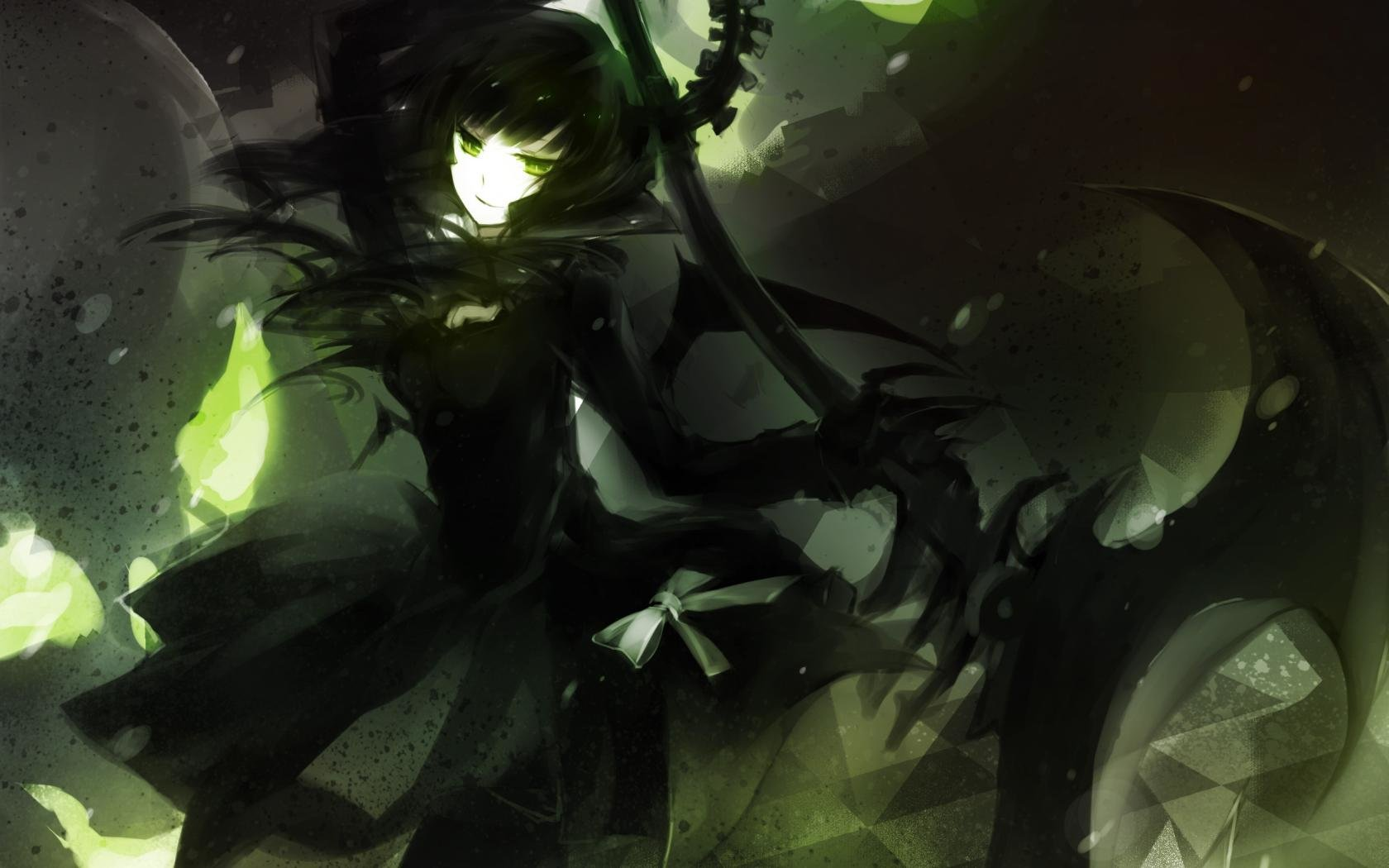 High resolution Dead Master (Black Rock Shooter) hd 1680x1050 background ID:454086 for computer