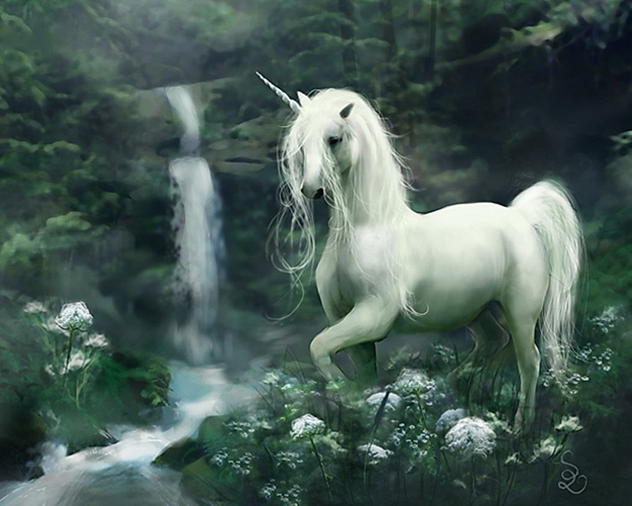 High resolution Unicorn hd 1280x1024 wallpaper ID:408726 for desktop