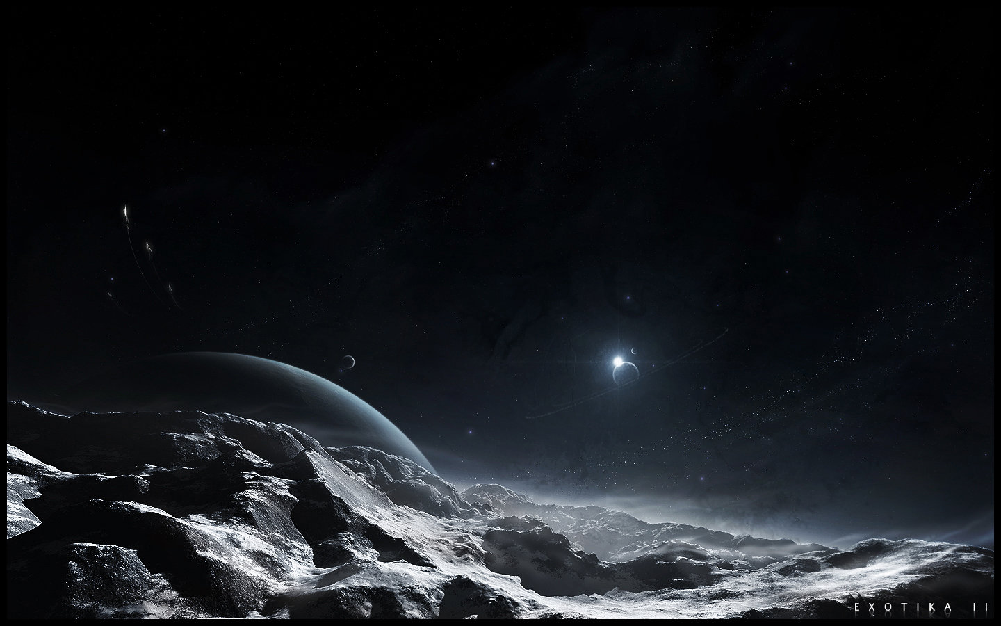 High resolution Planet Rise hd 1440x900 background ID:193827 for PC