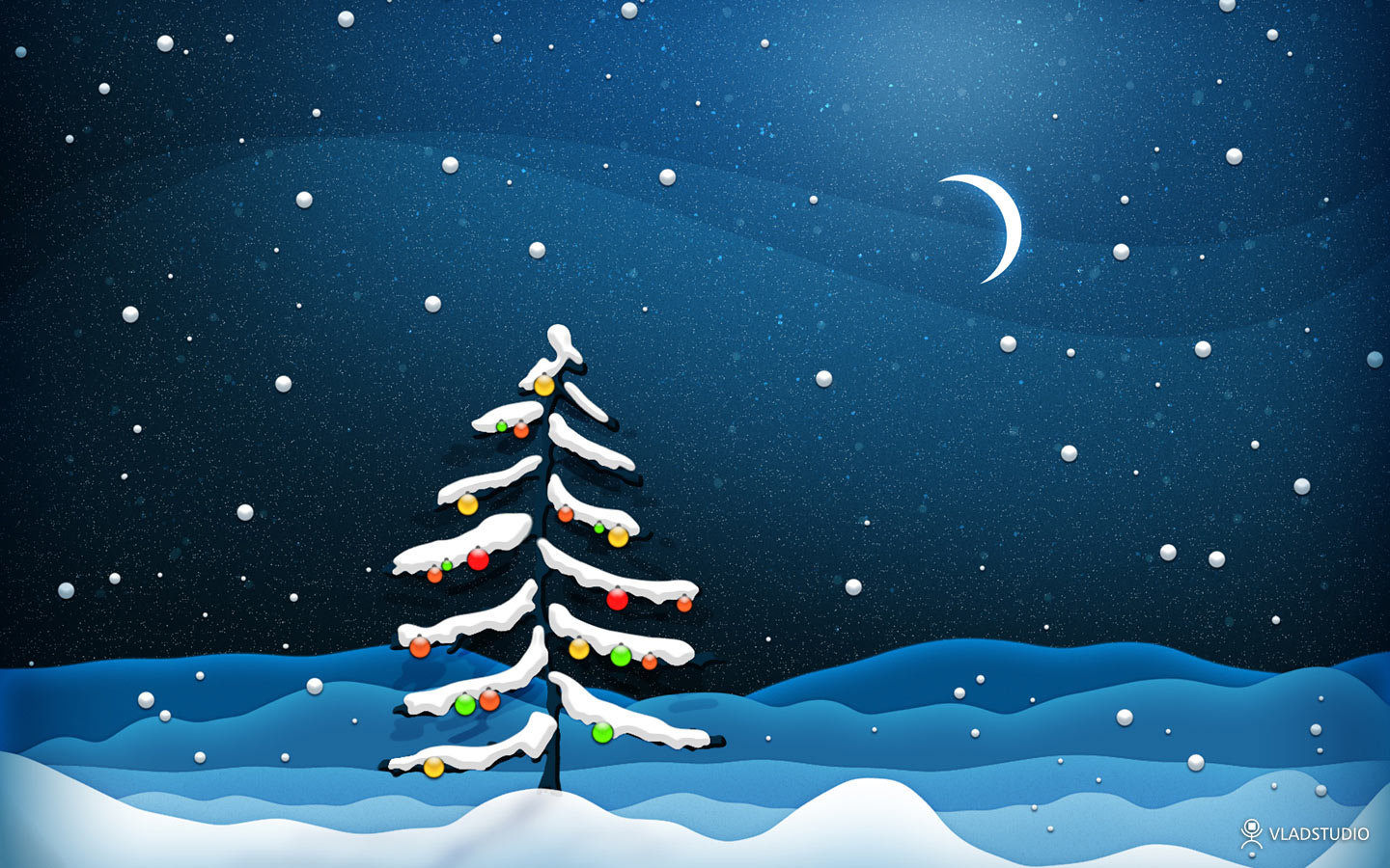 Free download Christmas Tree background ID:436120 hd 1440x900 for desktop