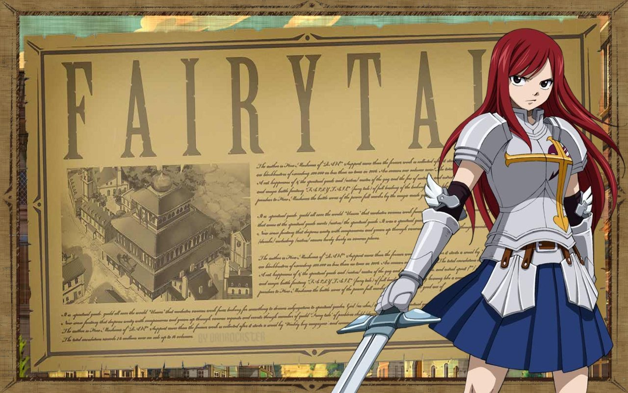 High resolution Erza Scarlet hd 1280x800 wallpaper ID:41005 for desktop