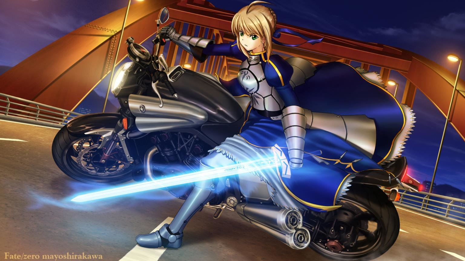 Best Fate/Zero background ID:87512 for High Resolution hd 1536x864 desktop
