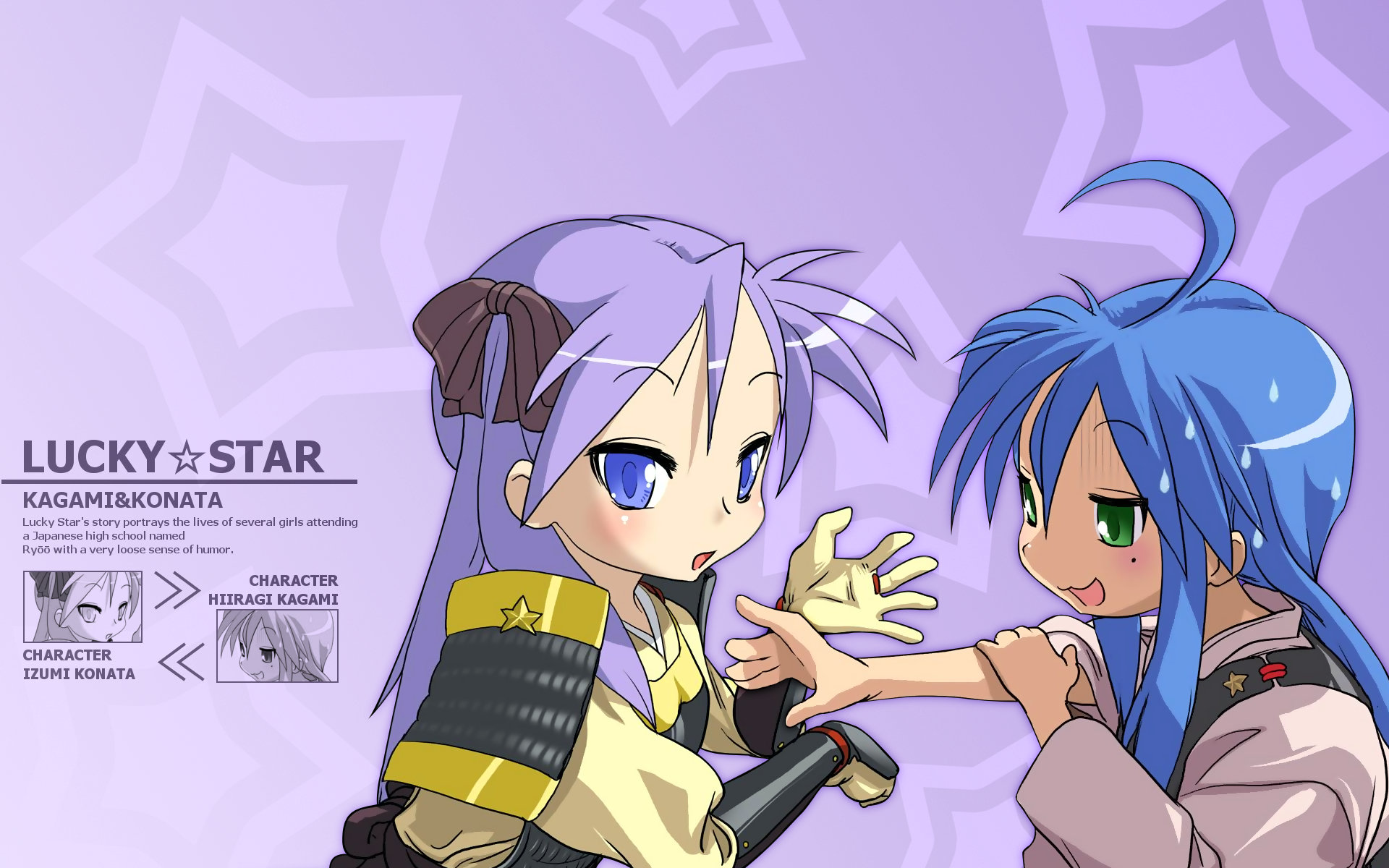 Download hd 1920x1200 Konata Izumi desktop wallpaper ID:214402 for free