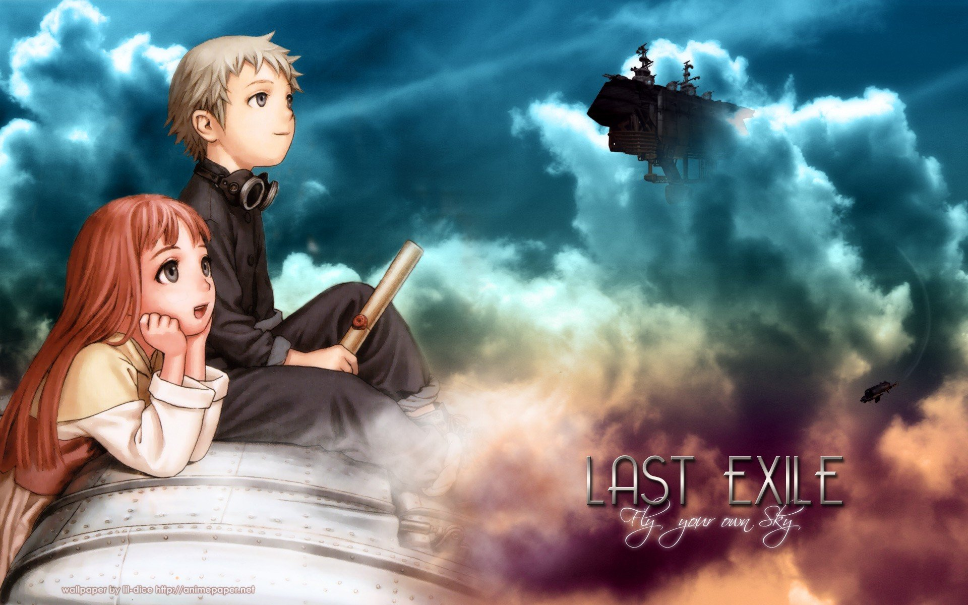 High resolution Last Exile hd 1920x1200 background ID:156906 for computer