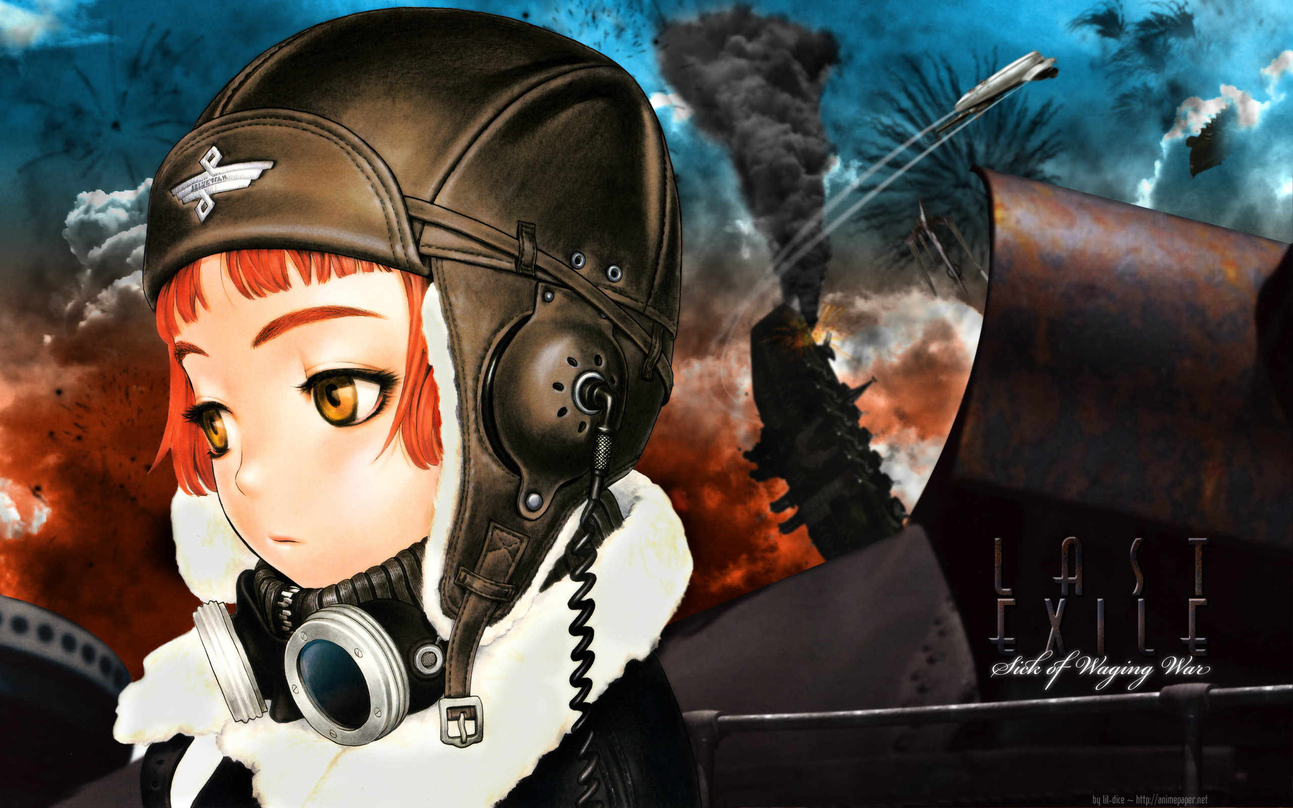 Download hd 2560x1600 Last Exile computer background ID:156899 for free