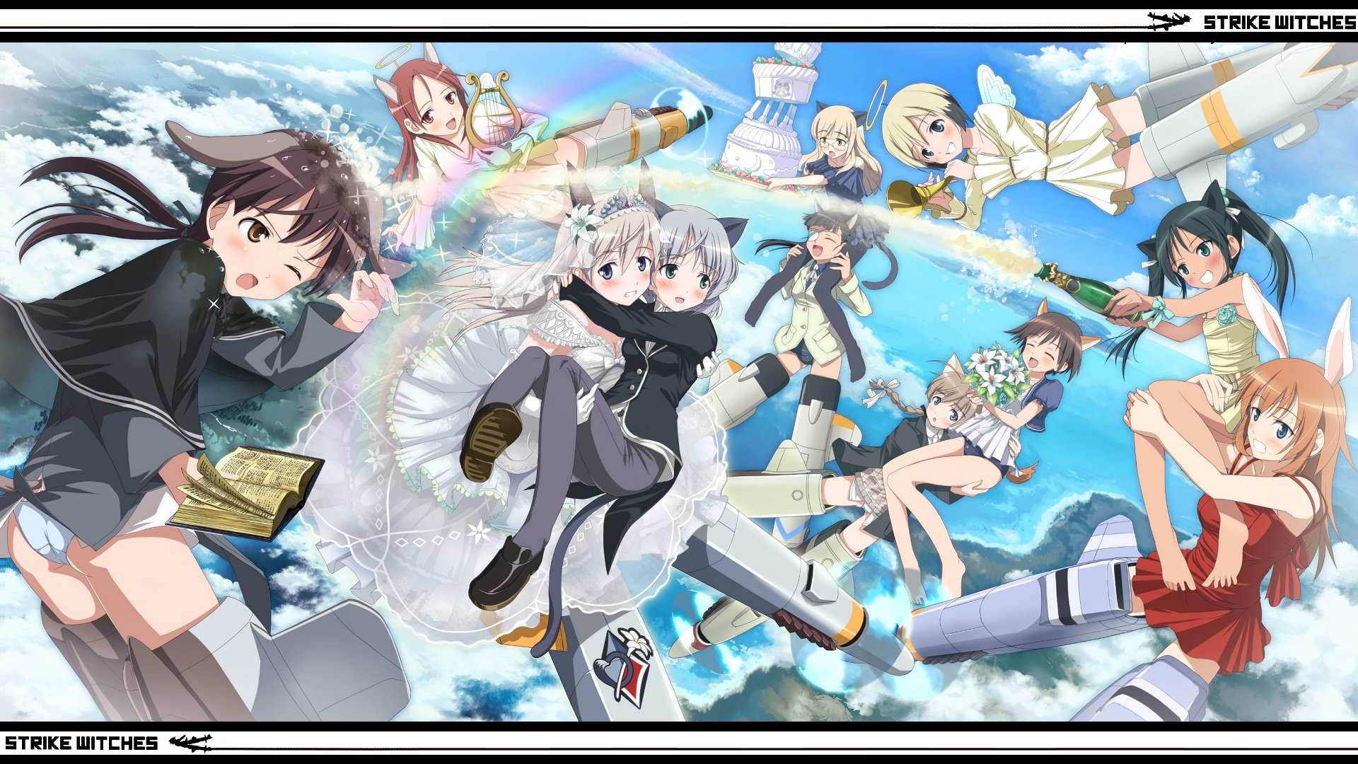 Awesome Strike Witches free wallpaper ID:305582 for full hd PC