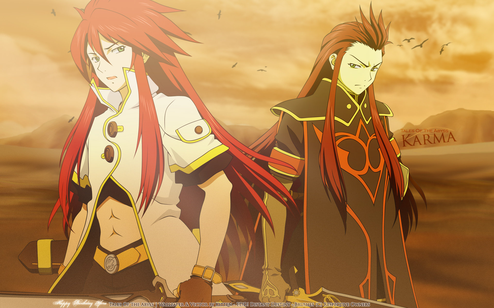 Awesome Tales Of The Abyss free background ID:449295 for hd 1920x1200 PC