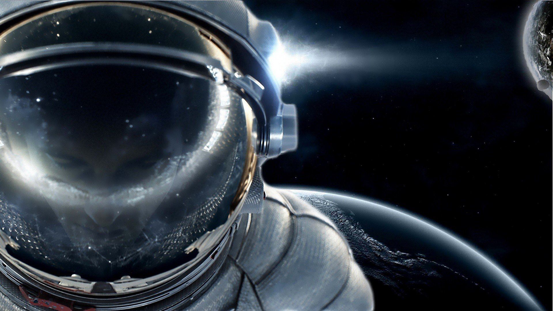 Free download Astronaut wallpaper ID:101472 full hd 1920x1080 for PC