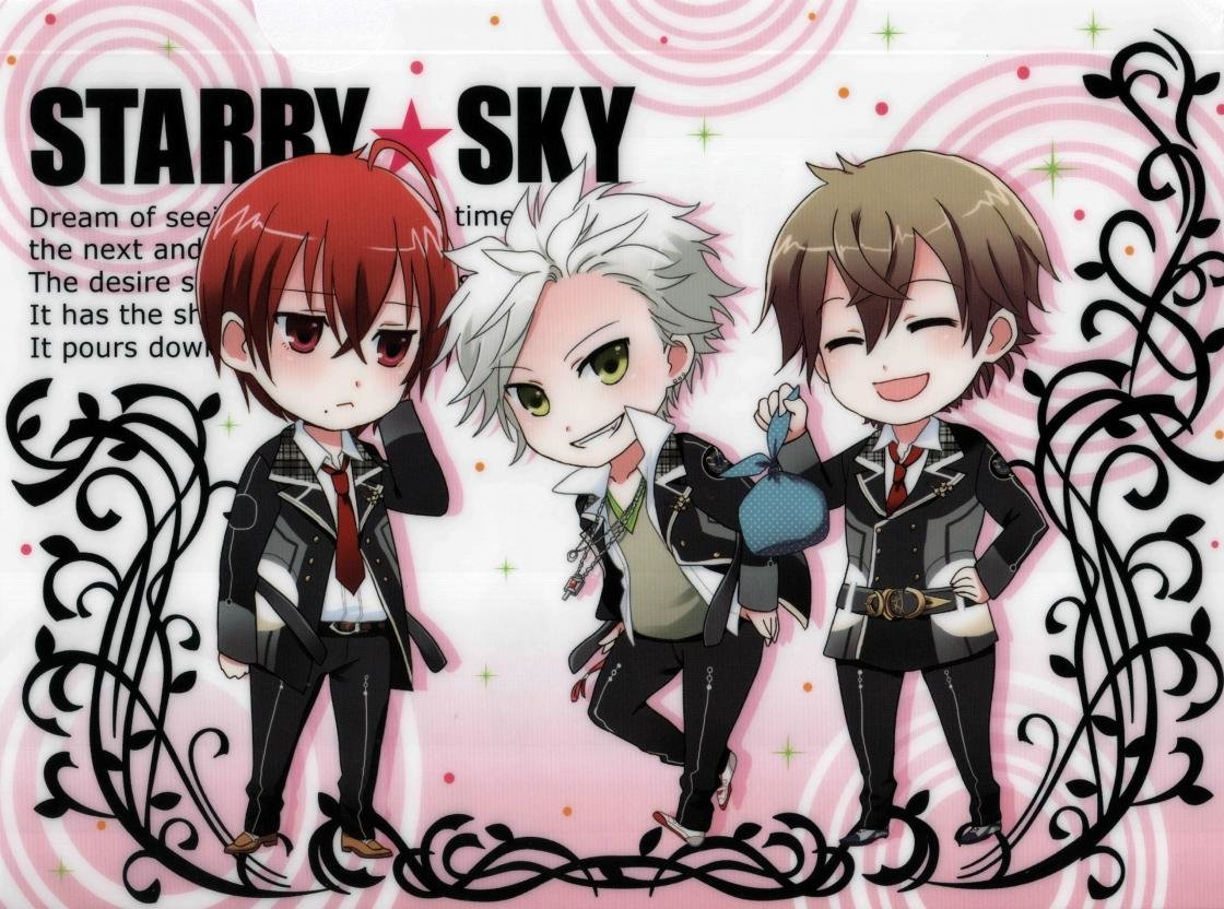 Free Starry Sky anime high quality background ID:169011 for hd 1120x832 PC