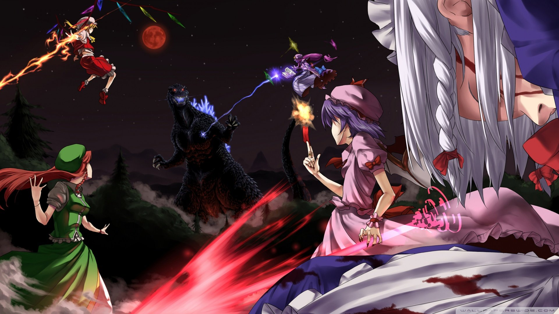 Free download Touhou wallpaper ID:220348 full hd for PC