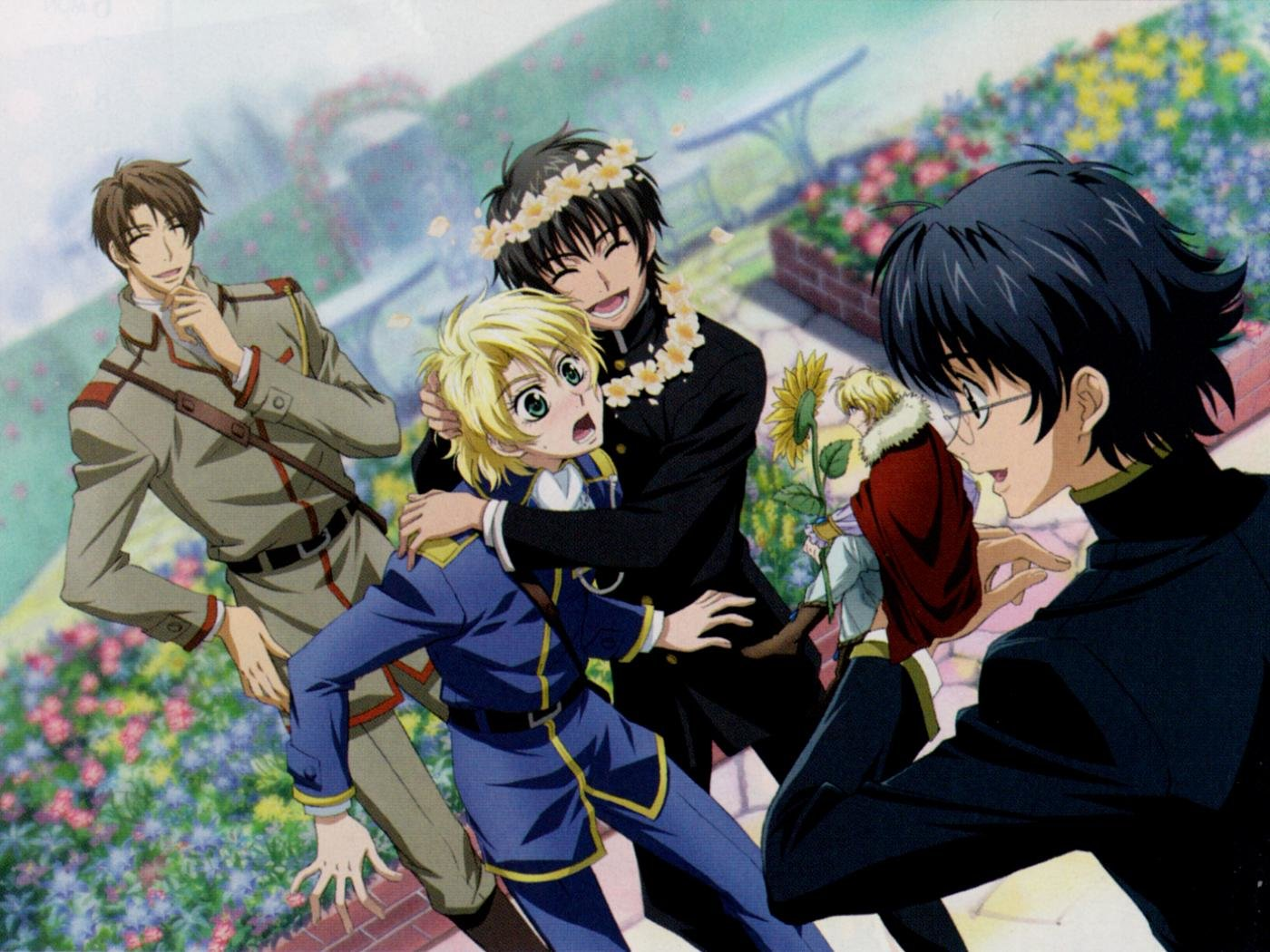 Awesome Kyo Kara Maoh! free background ID:149125 for hd 1400x1050 desktop