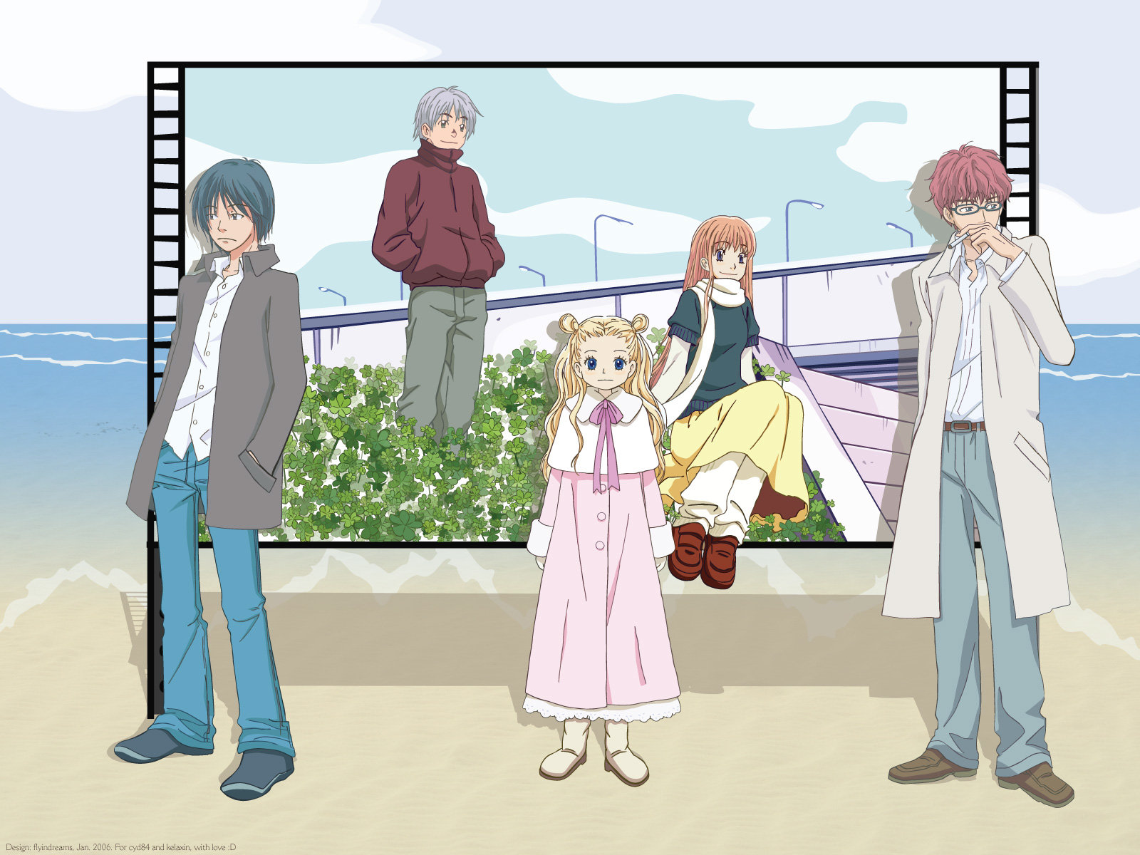Awesome Honey And Clover free wallpaper ID:98900 for hd 1600x1200 desktop