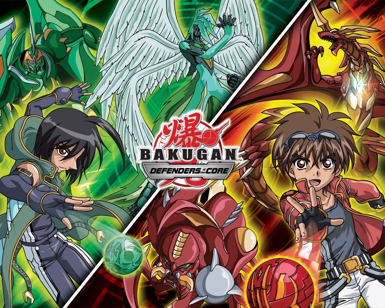 Download hd 1280x1024 Bakugan Battle computer background ID:40586 for free