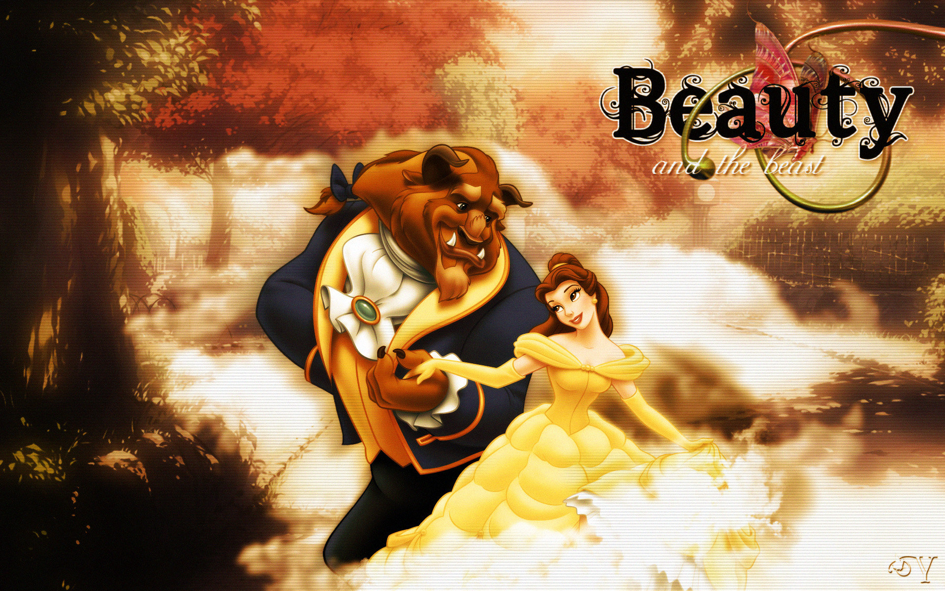 Beauty And The Beast Wallpapers 1920x1200 Desktop Backgrounds
