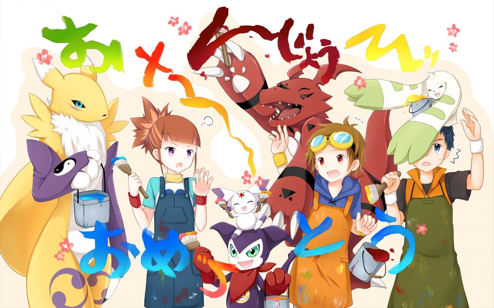 Download hd 1680x1050 Digimon PC background ID:380204 for free