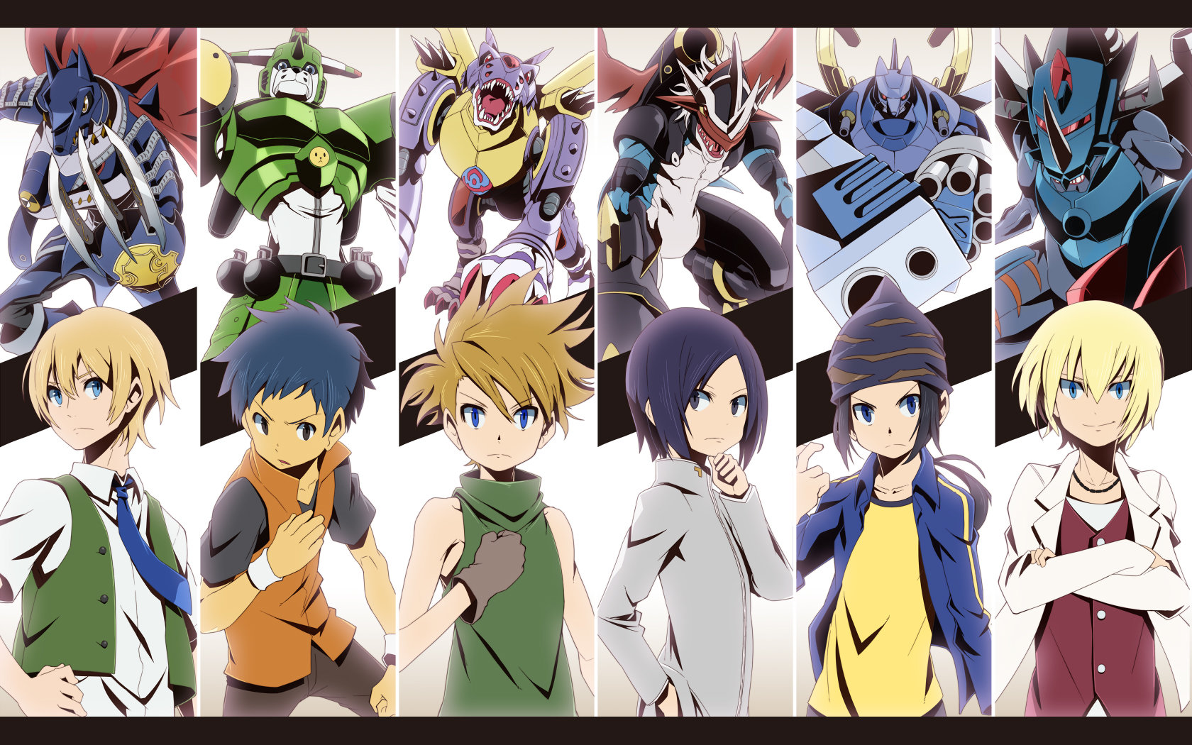 Download hd 1680x1050 Digimon PC wallpaper ID:380203 for free