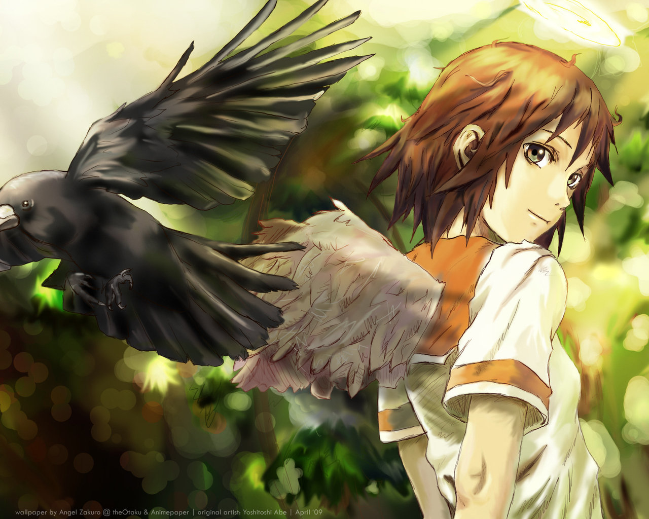 High resolution Haibane Renmei hd 1280x1024 background ID:467857 for desktop
