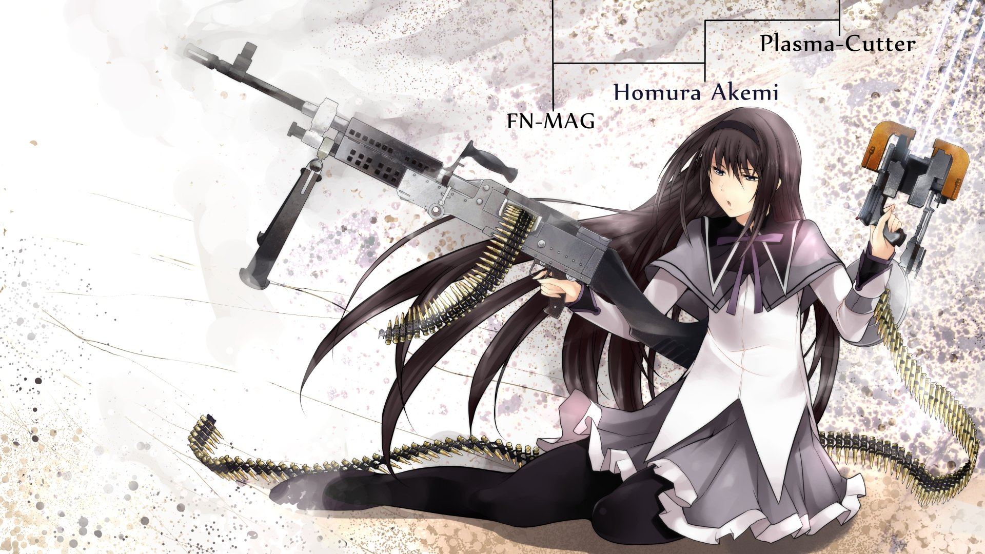 Awesome Homura Akemi free background ID:32474 for full hd 1920x1080 PC