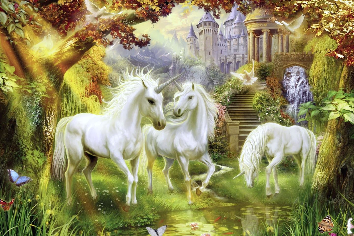 Best Unicorn wallpaper ID:408738 for High Resolution hd 1440x960 PC