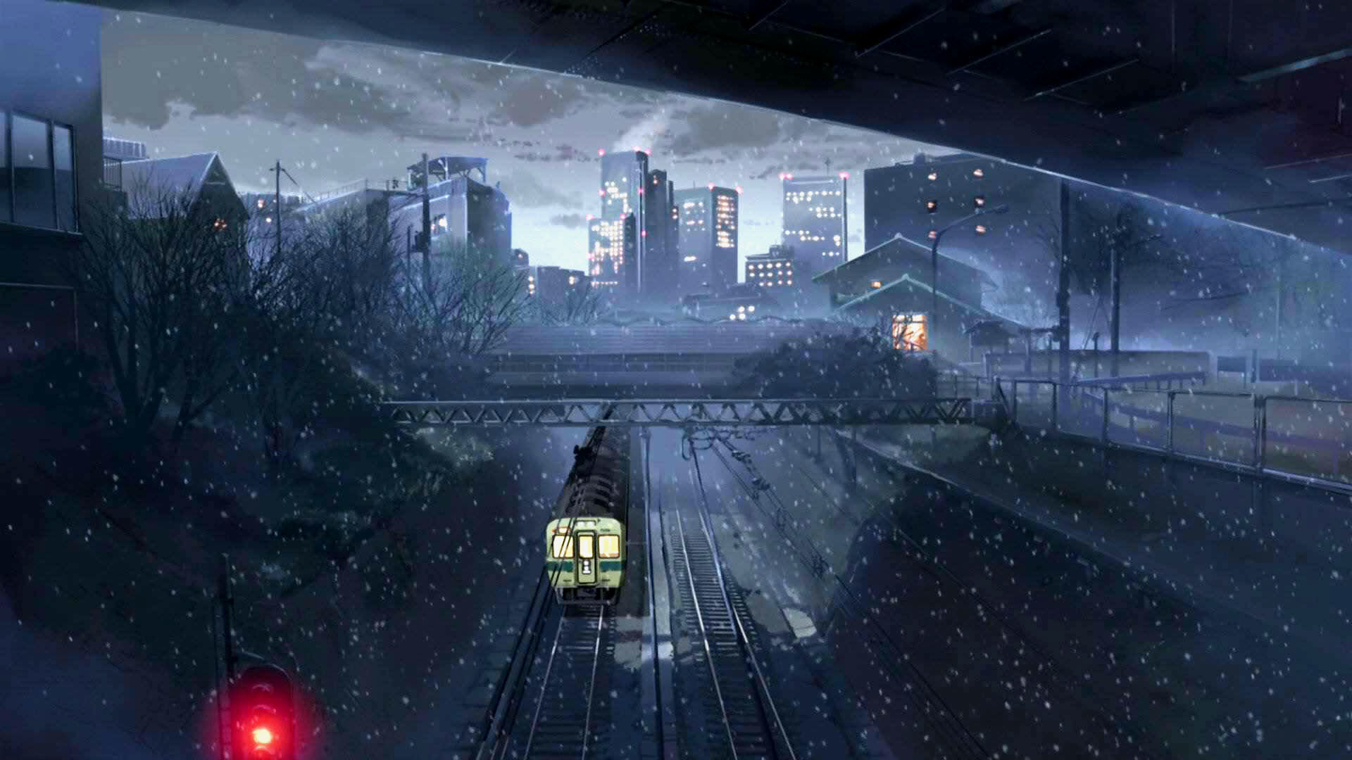 Best 5 (cm) Centimeters Per Second background ID:90053 for High Resolution full hd 1080p desktop