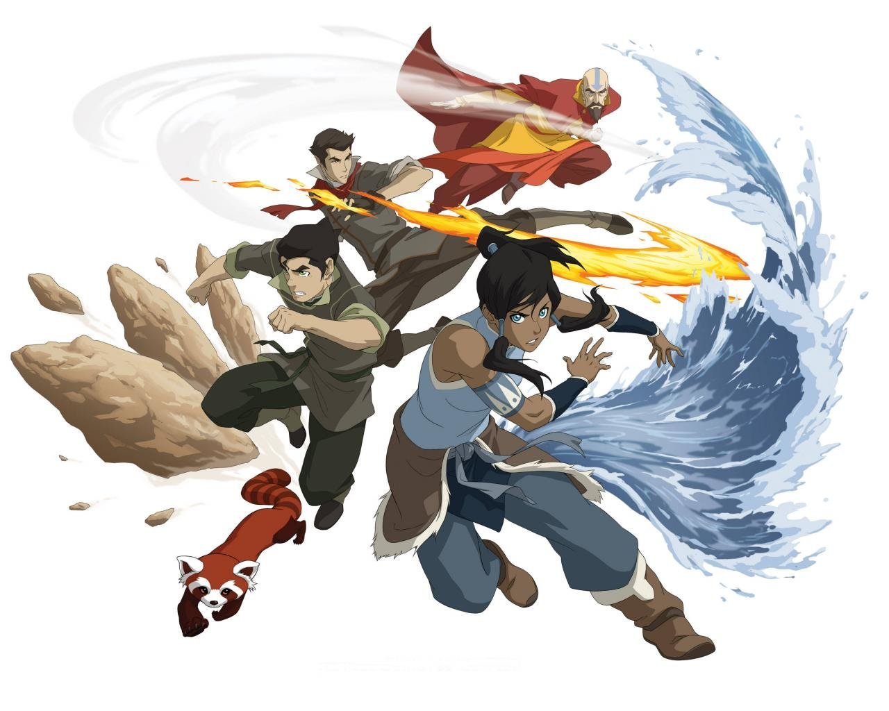 Awesome Avatar: The Legend Of Korra free background ID:243507 for hd 1280x1024 desktop