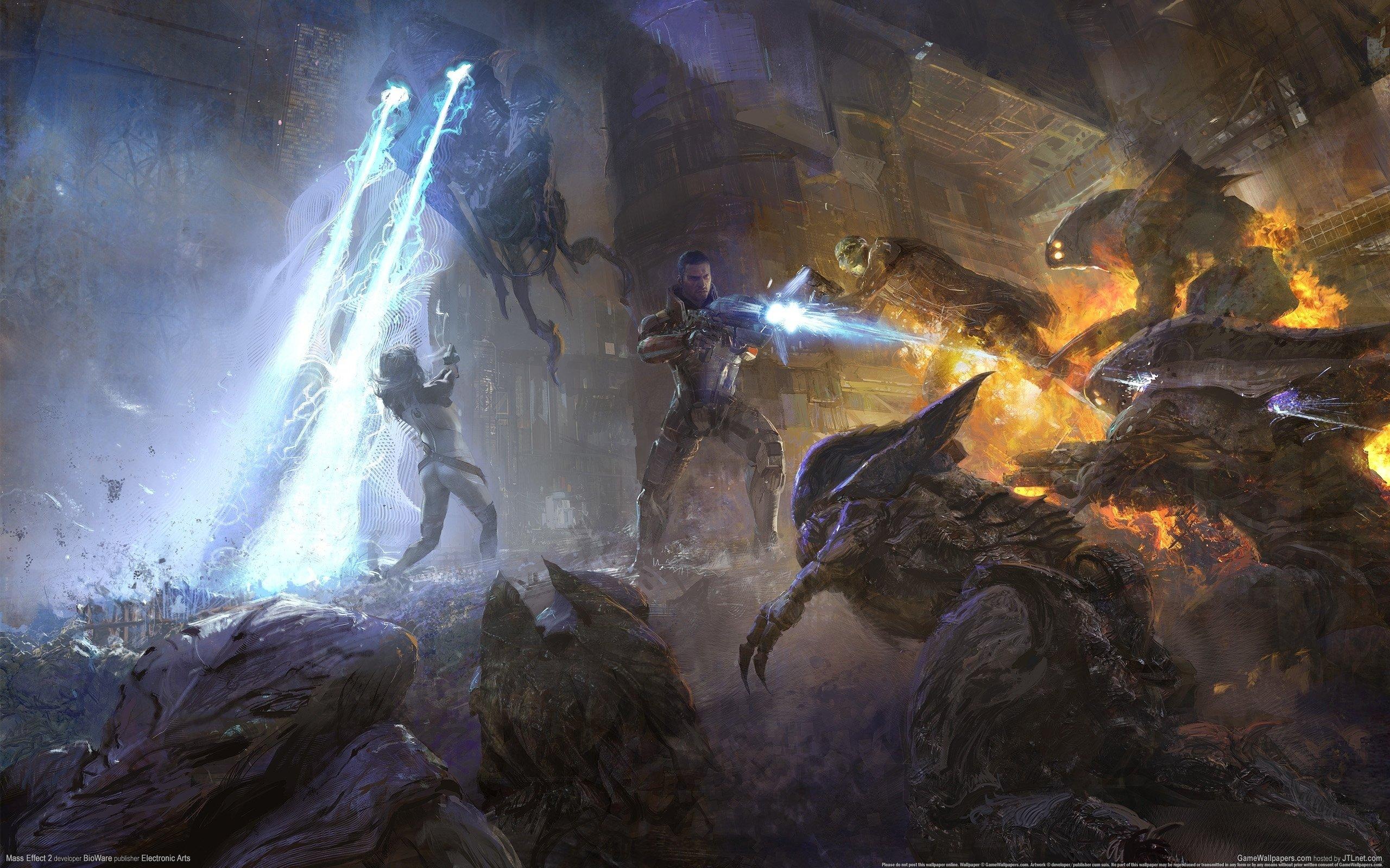 Mass Effect Wallpapers Hd For Desktop Backgrounds