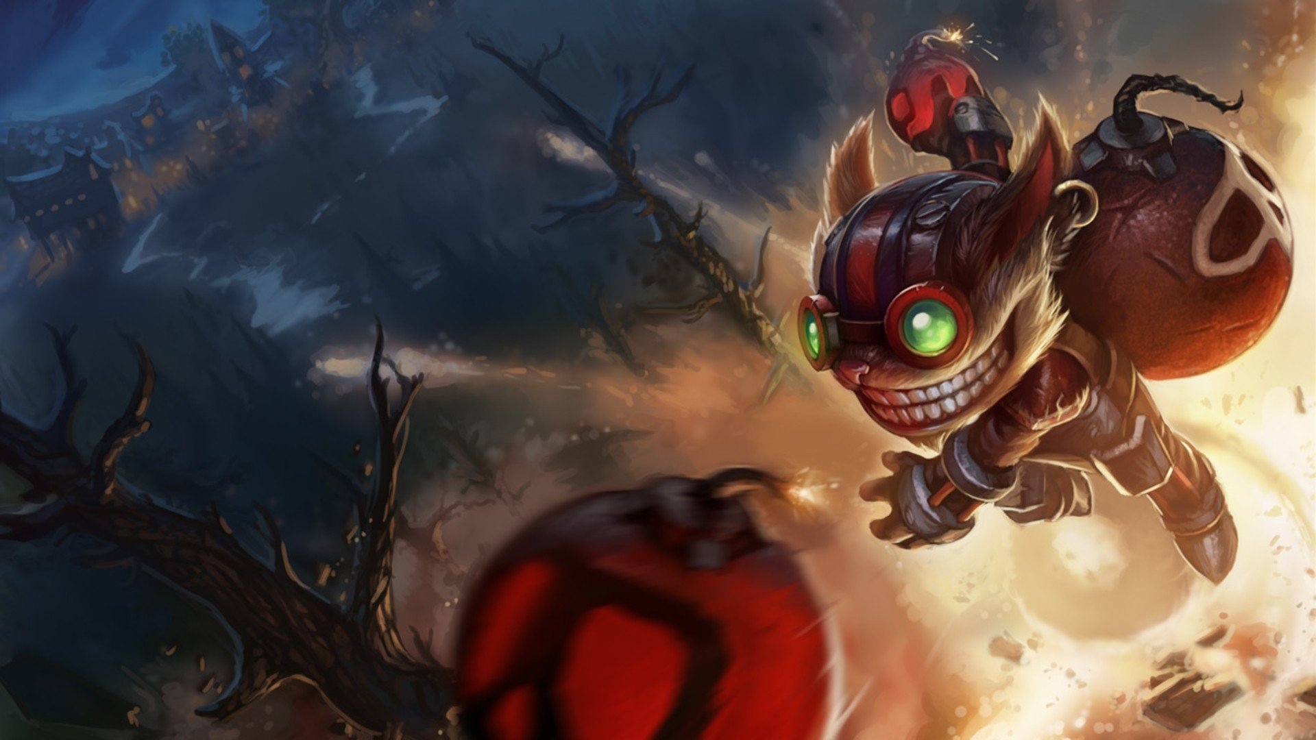 Free Ziggs (League Of Legends) high quality background ID:171431 for full hd 1920x1080 PC