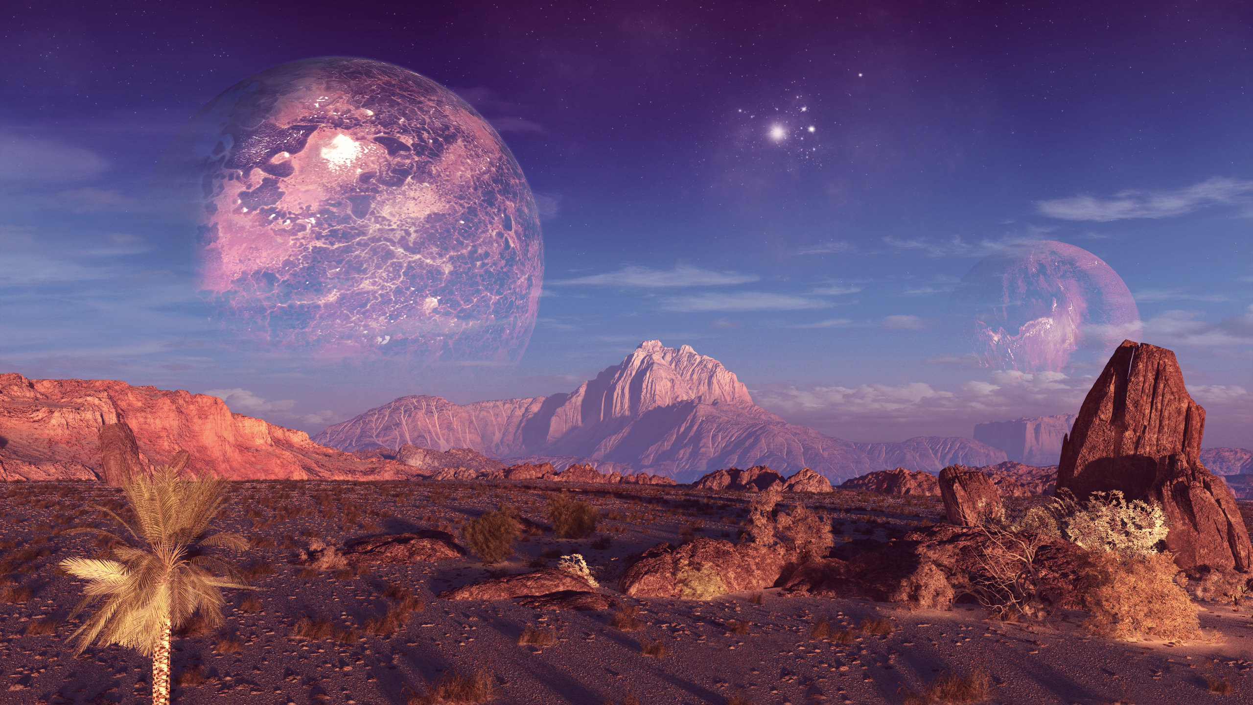High resolution Planets hd 2560x1440 wallpaper ID:152560 for PC