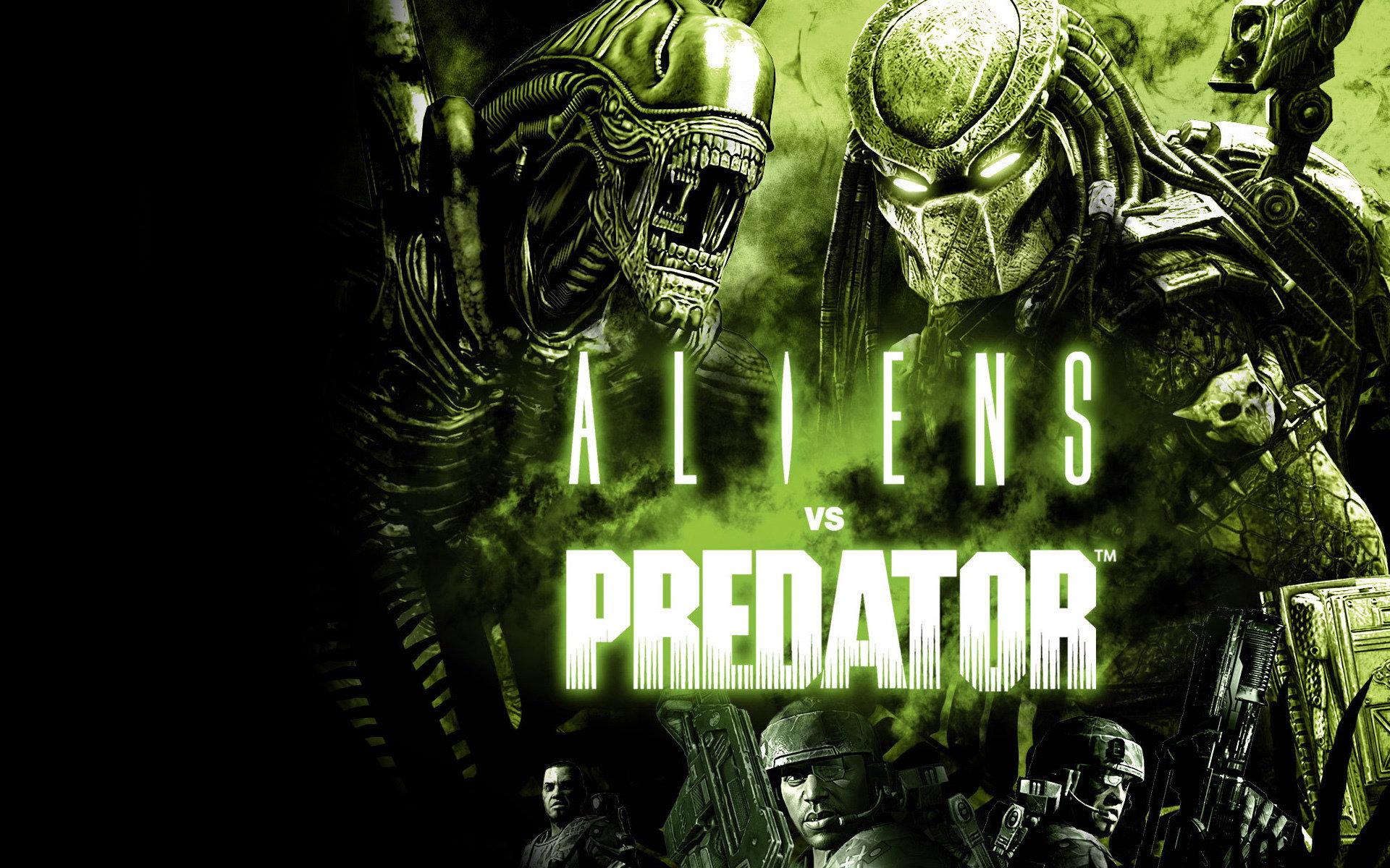 aliens vs. predator wallpapers 1920x1200 desktop backgrounds