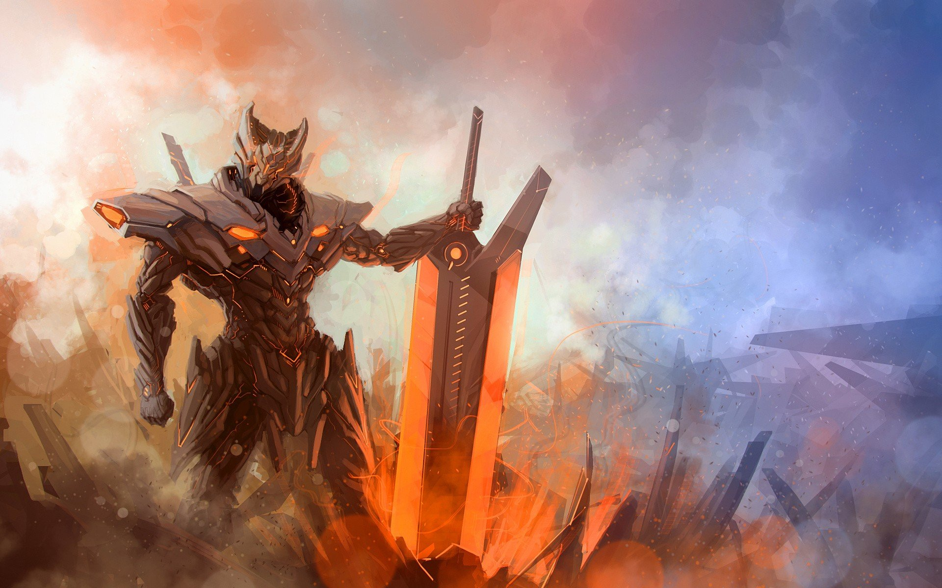 Download hd 1920x1200 Warrior desktop wallpaper ID:196398 for free