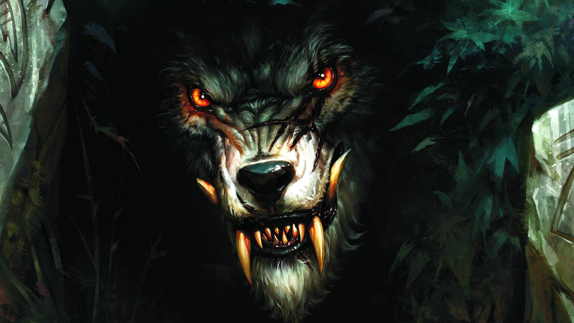 Download hd 1920x1080 Werewolf computer wallpaper ID:163734 for free