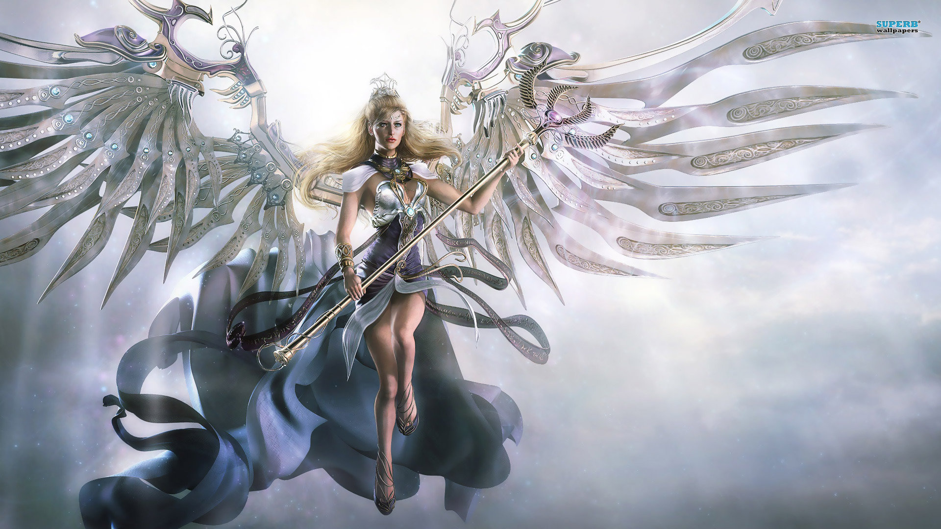 Free Angel high quality background ID:7265 for full hd 1920x1080 desktop