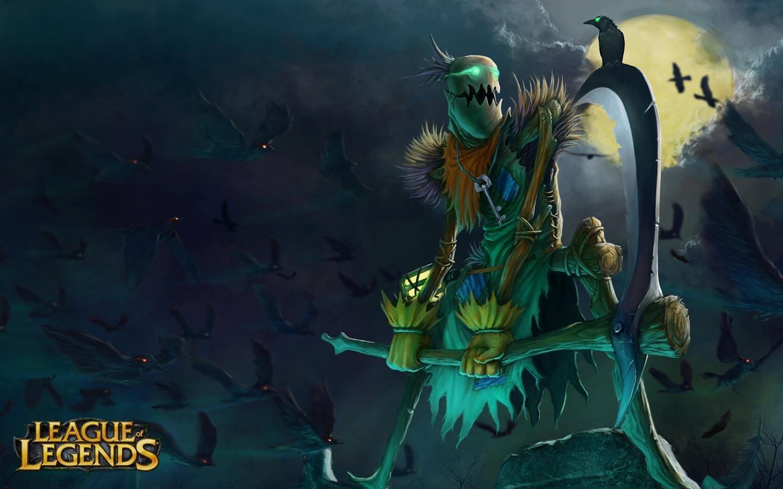 Fiddlesticks League Of Legends Wallpapers Hd For Desktop Backgrounds