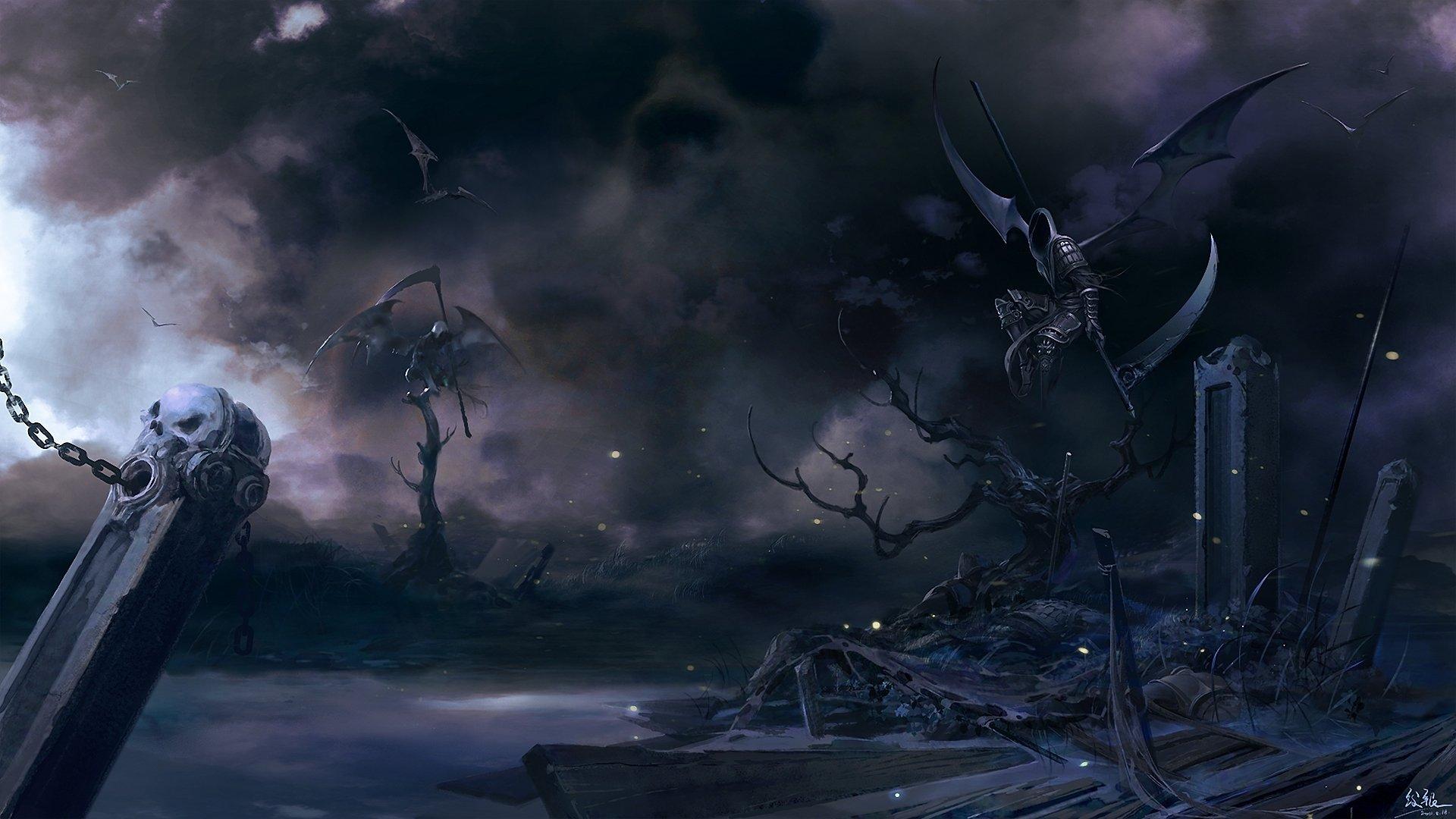 High resolution Grim Reaper hd 1920x1080 wallpaper ID:155347 for desktop