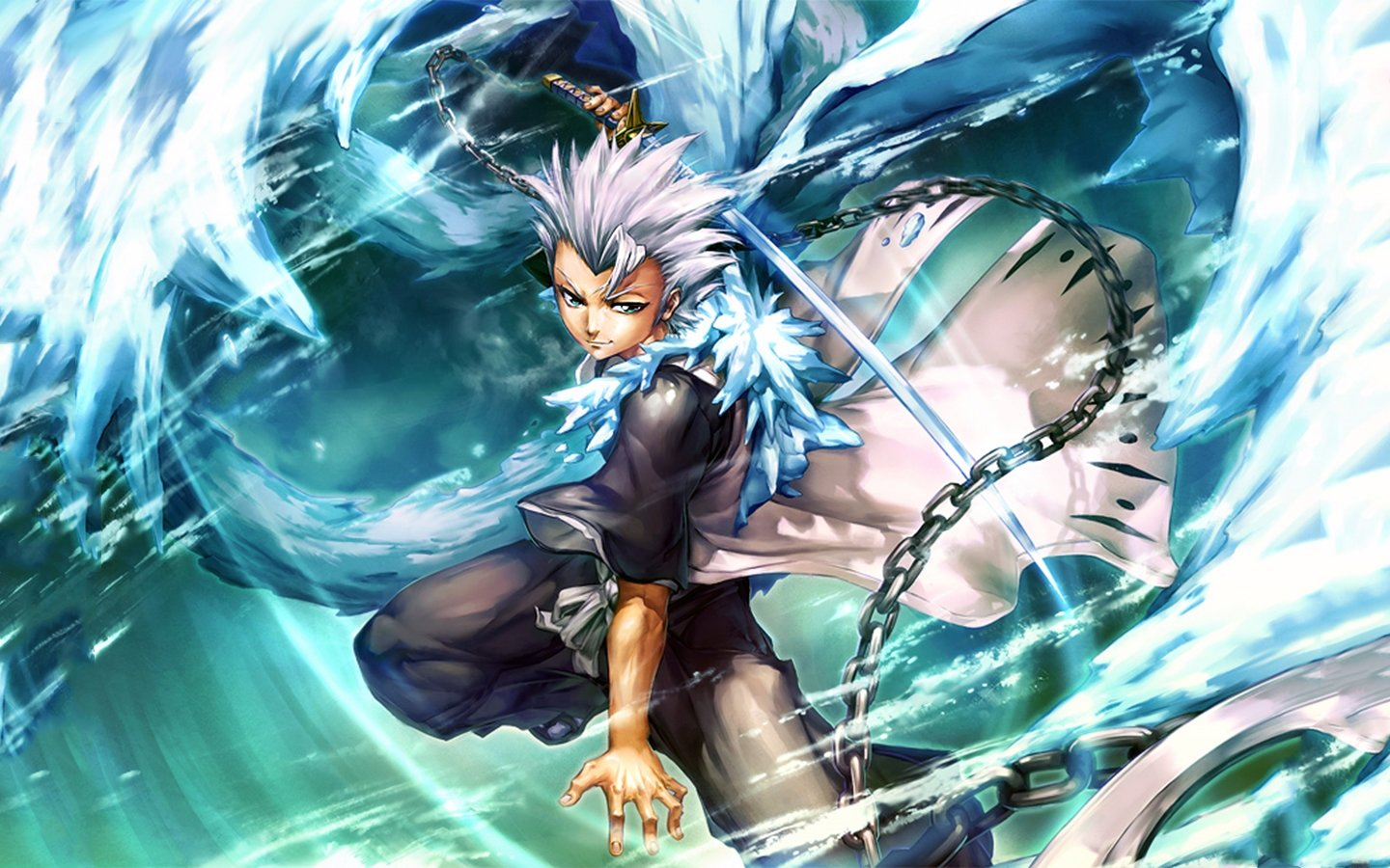 Download hd 1440x900 Toshiro Hitsugaya PC wallpaper ID:416642 for free