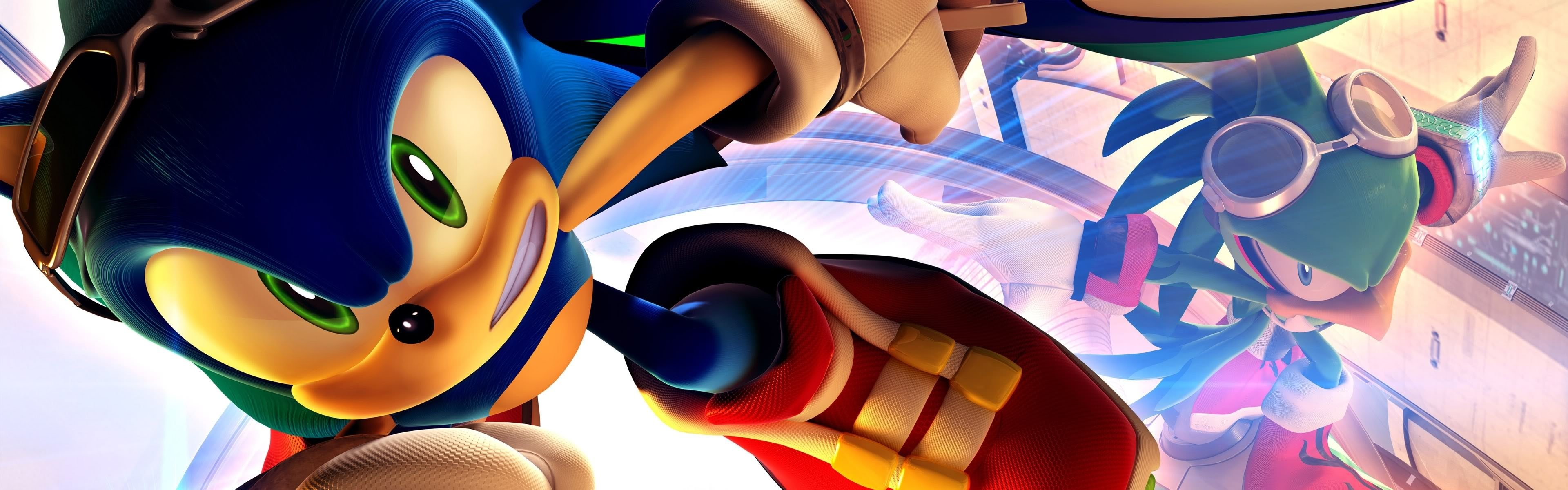 Free download Sonic Riders: Zero Gravity background ID:329492 dual monitor 3840x1200 for desktop