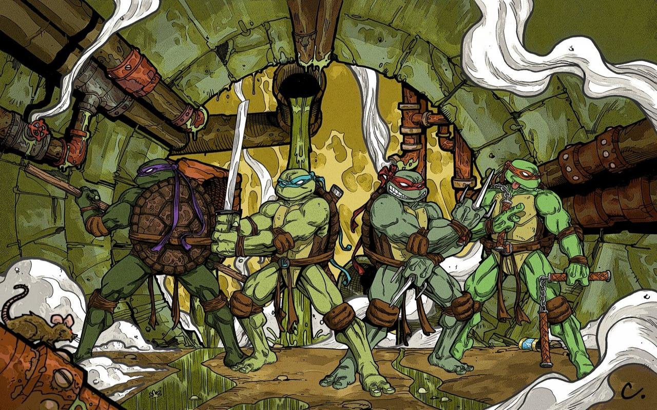 Download Hd 1280x800 Teenage Mutant Ninja Turtles Tmnt Desktop