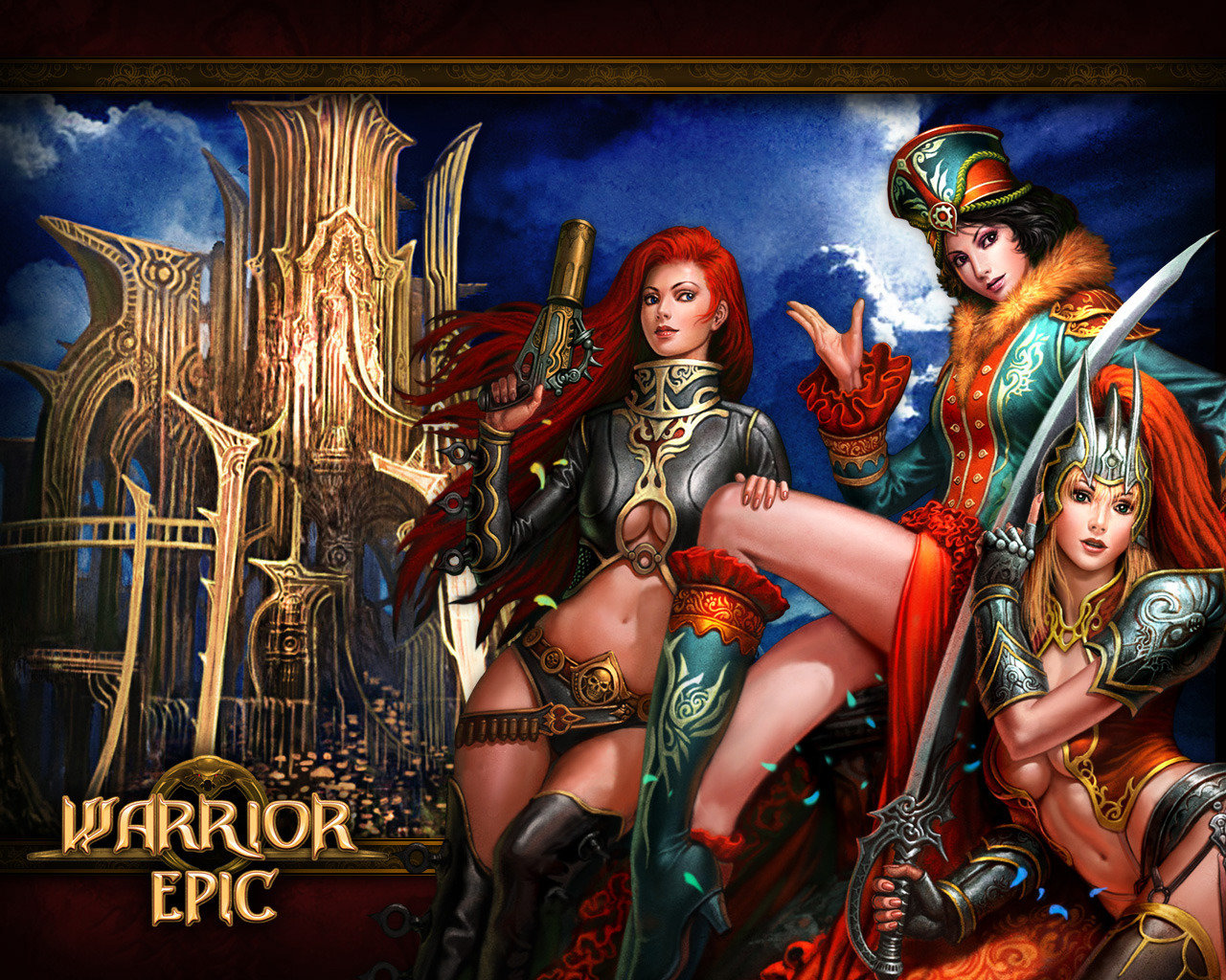 Free download Warrior Epic background ID:25078 hd 1280x1024 for desktop