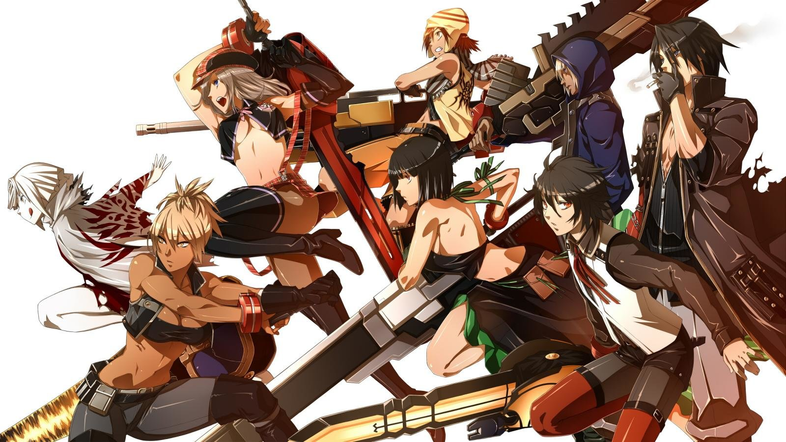 Download hd 1600x900 God Eater desktop background ID:409590 for free