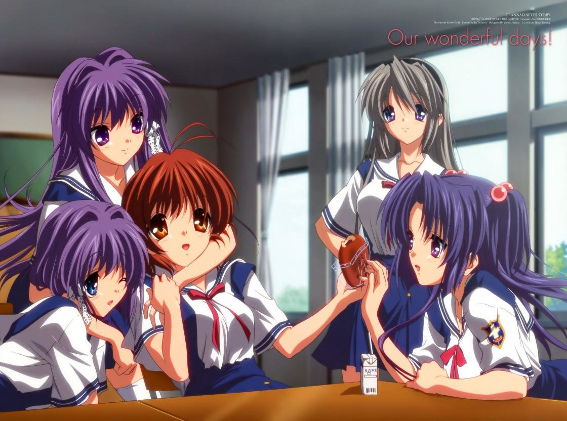 Download hd 1120x832 Clannad PC background ID:318267 for free