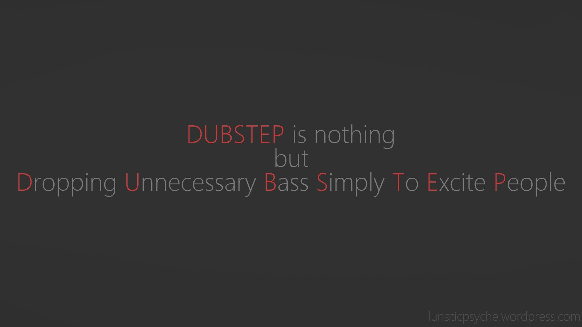 High Resolution Dubstep Hd 1080p Wallpaper ID11182 For PC