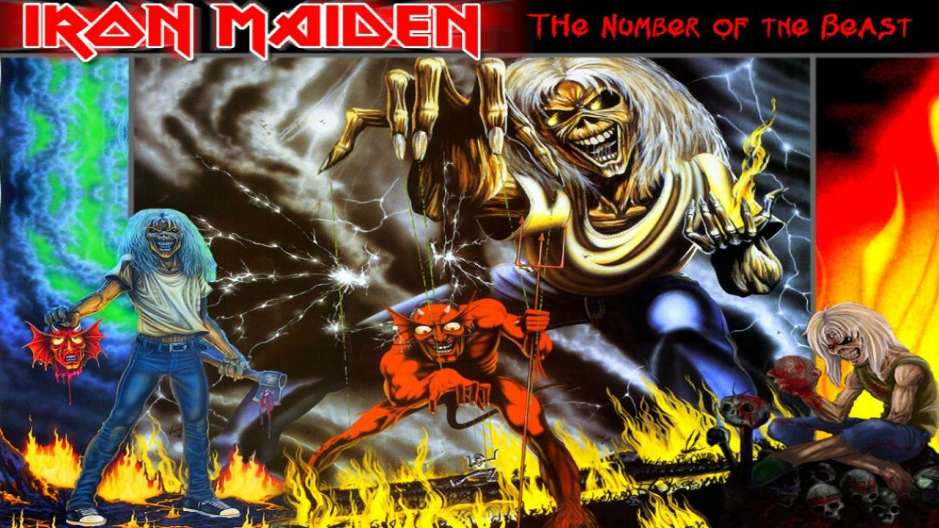 Awesome Iron Maiden Free Wallpaper ID72648 For Hd 1366x768 PC