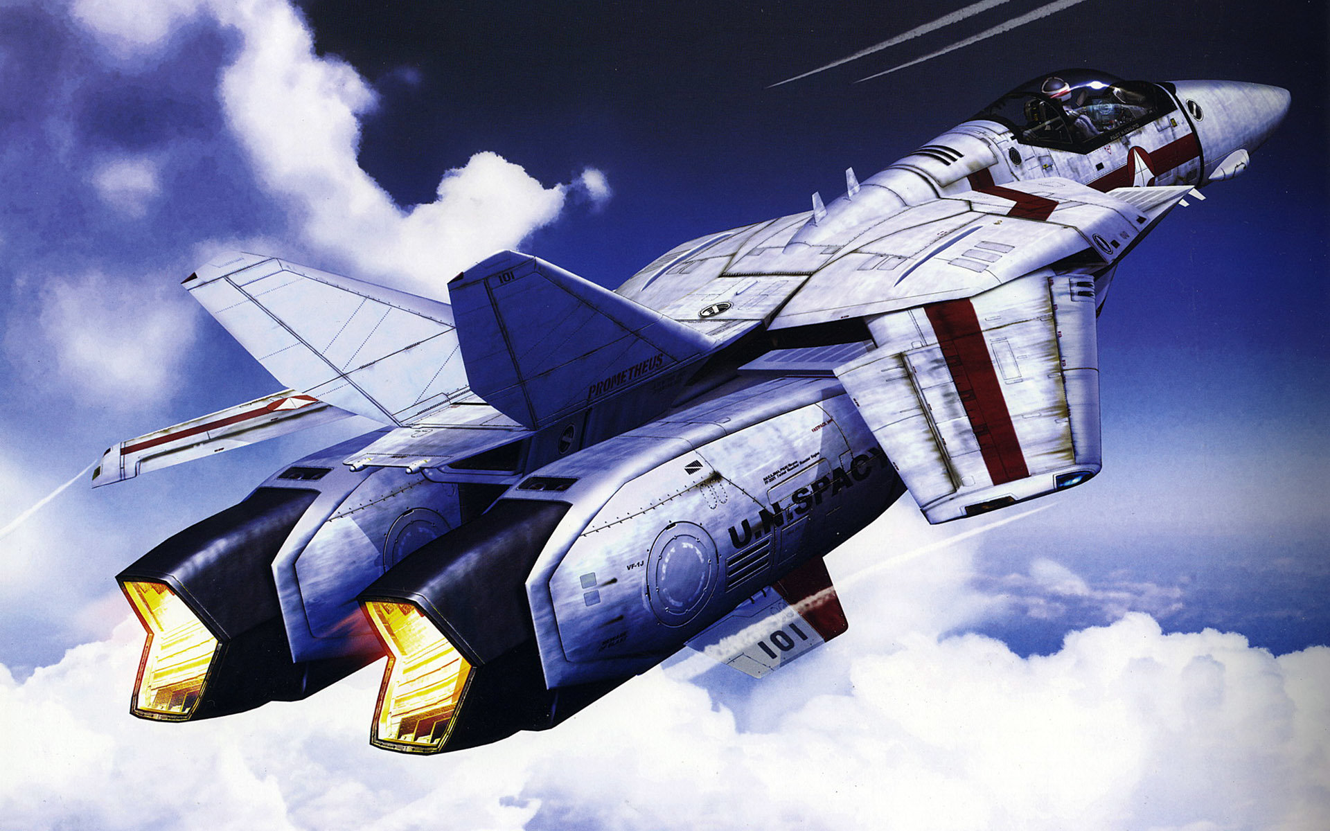 Best Macross background ID:352019 for High Resolution hd 1920x1200 desktop