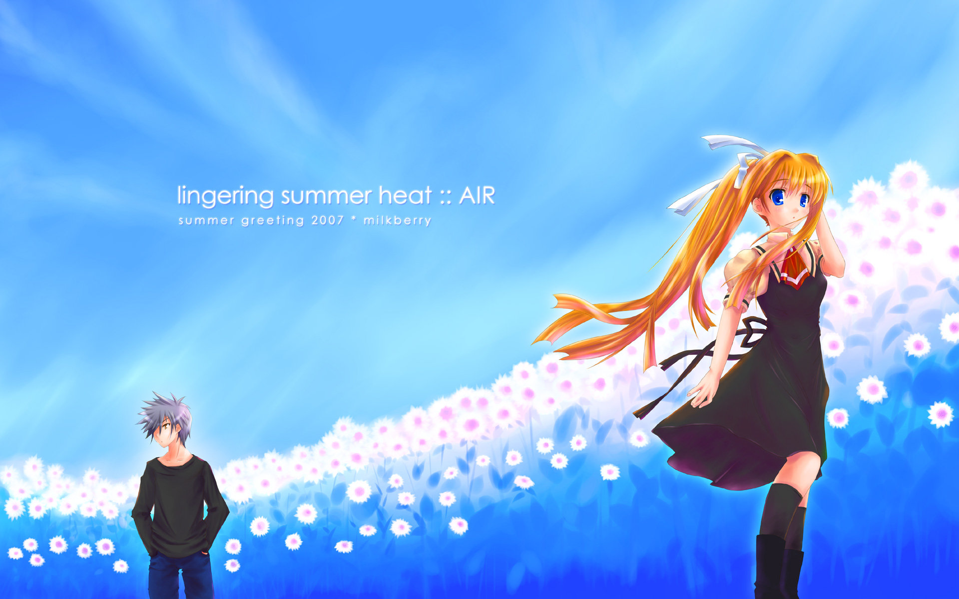 Download hd 1920x1200 Air anime PC background ID:273458 for free