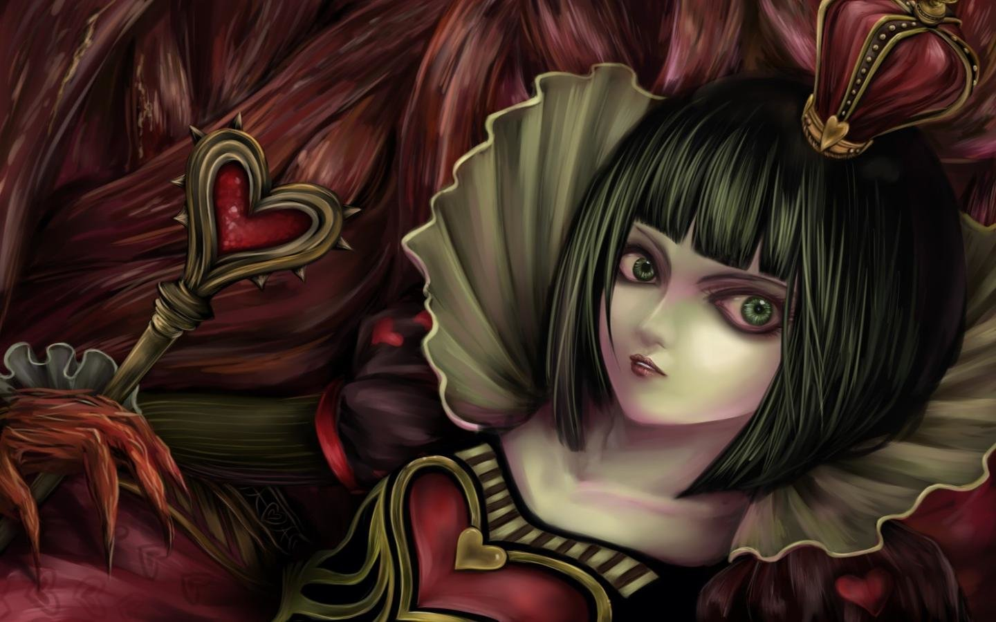 Download hd 1440x900 Alice: Madness Returns PC wallpaper ID:27621 for free