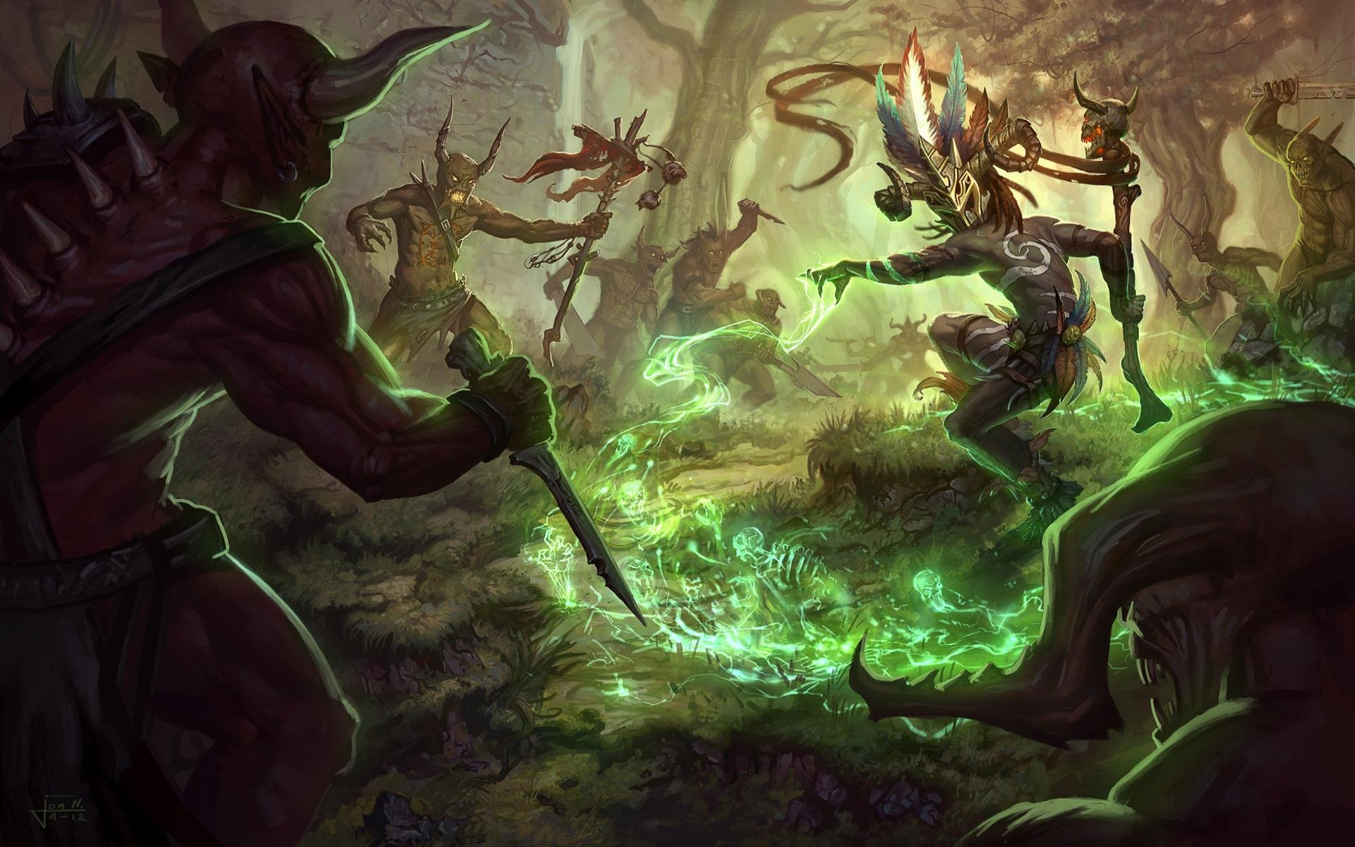 Best Diablo 3 background ID:31083 for High Resolution hd 1920x1200 PC