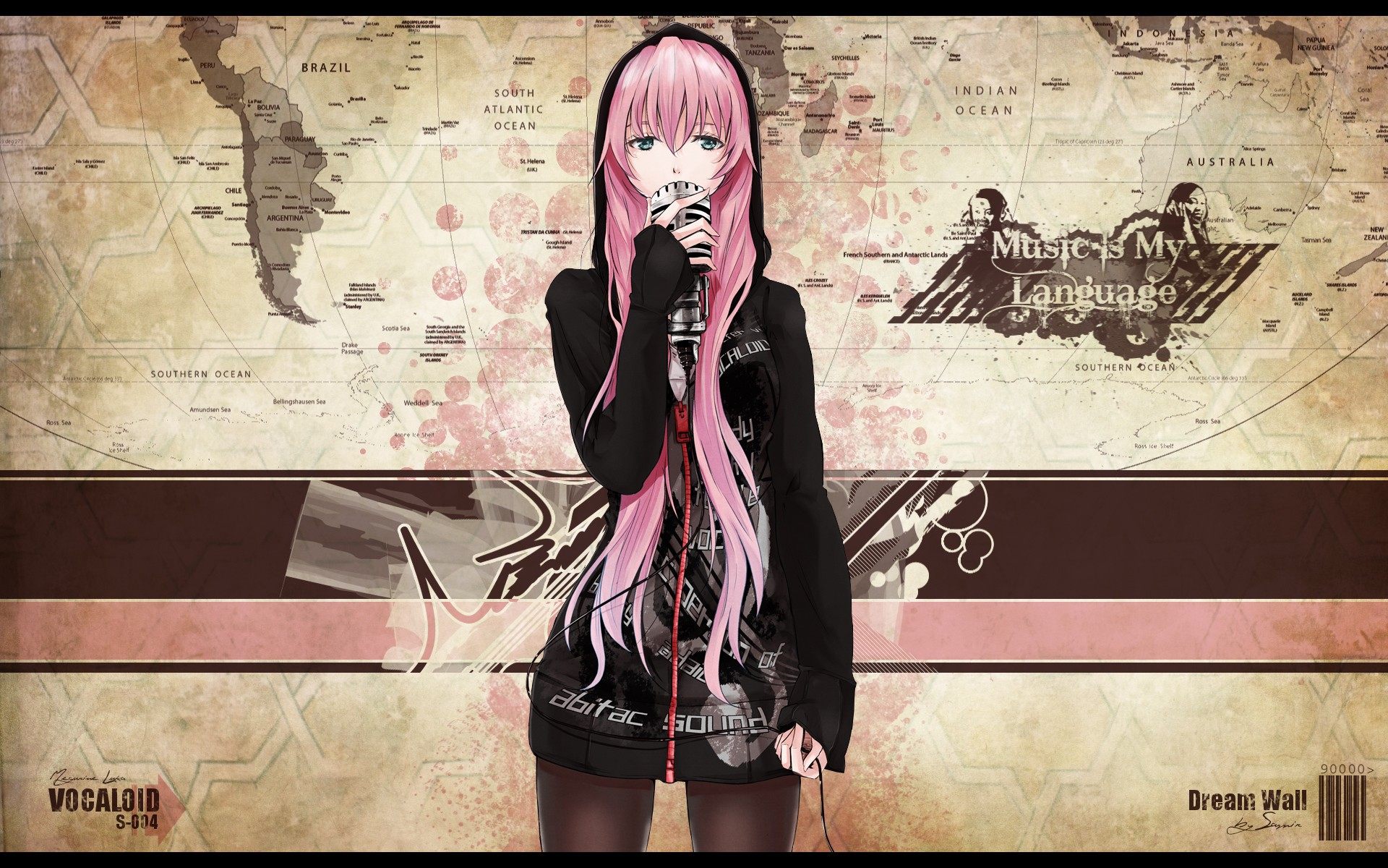 Free Luka Megurine high quality background ID:273 for hd 1920x1200 desktop