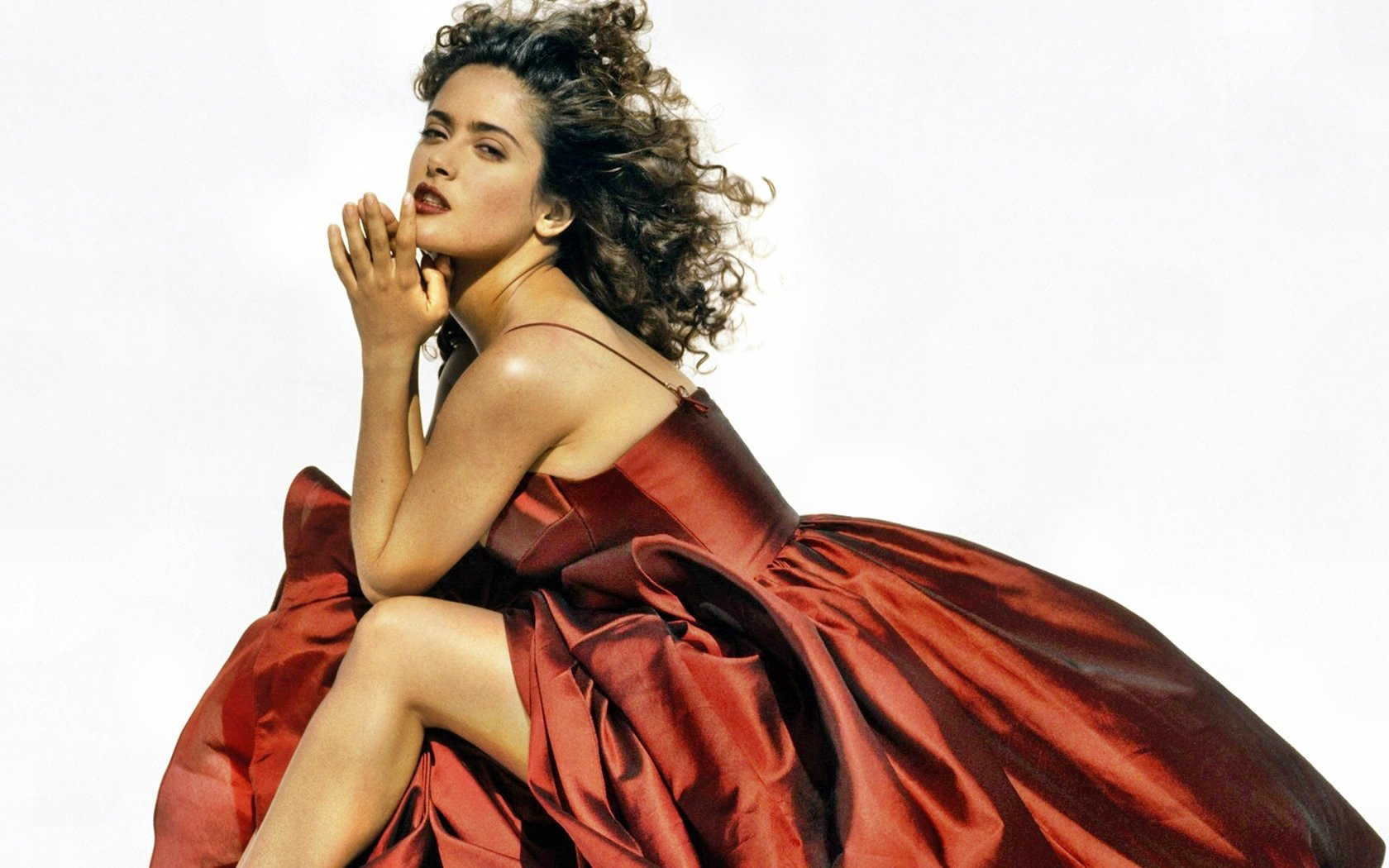 Awesome Salma Hayek free wallpaper ID:96928 for hd 1680x1050 PC