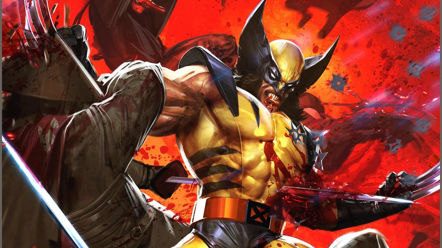 Free download Wolverine background ID:276374 hd 1536x864 for computer